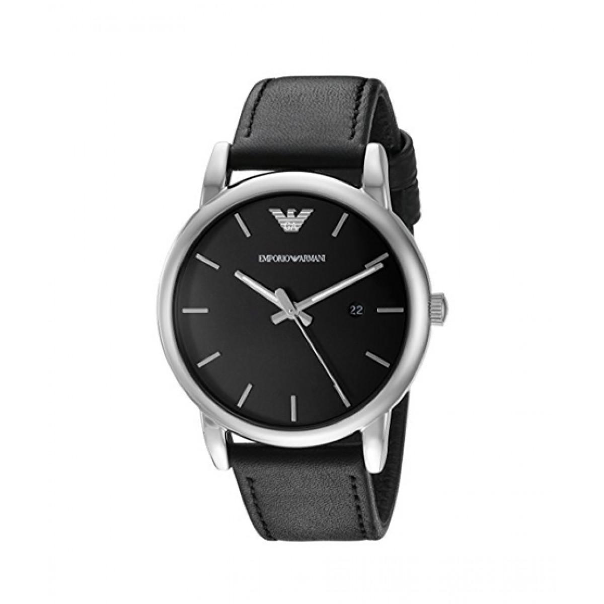 7214016b9d359 Emporio Armani Dress Men's Watch Black Price in Pakistan | Buy Emporio  Armani Men's Watch (AR1692) | iShopping.pk