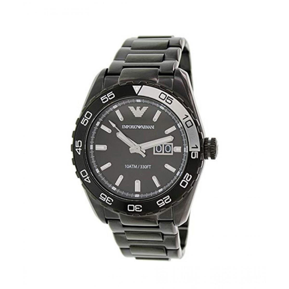 huge discount f2474 35063 Emporio Armani Sportivo Men's Watch Black (AR6049)