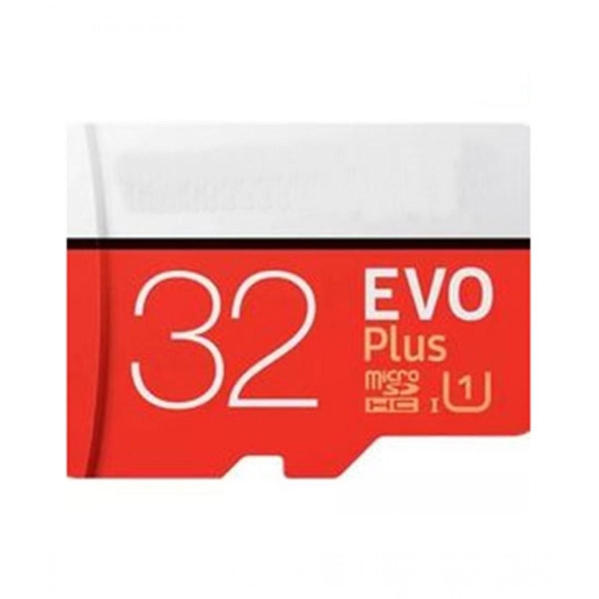Eomobiles 32GB EVO Plus microSD Memory Card