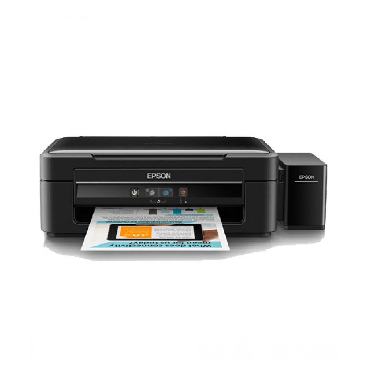Epson All-in-One Inkjet Color Printer (L360) - Without Warranty
