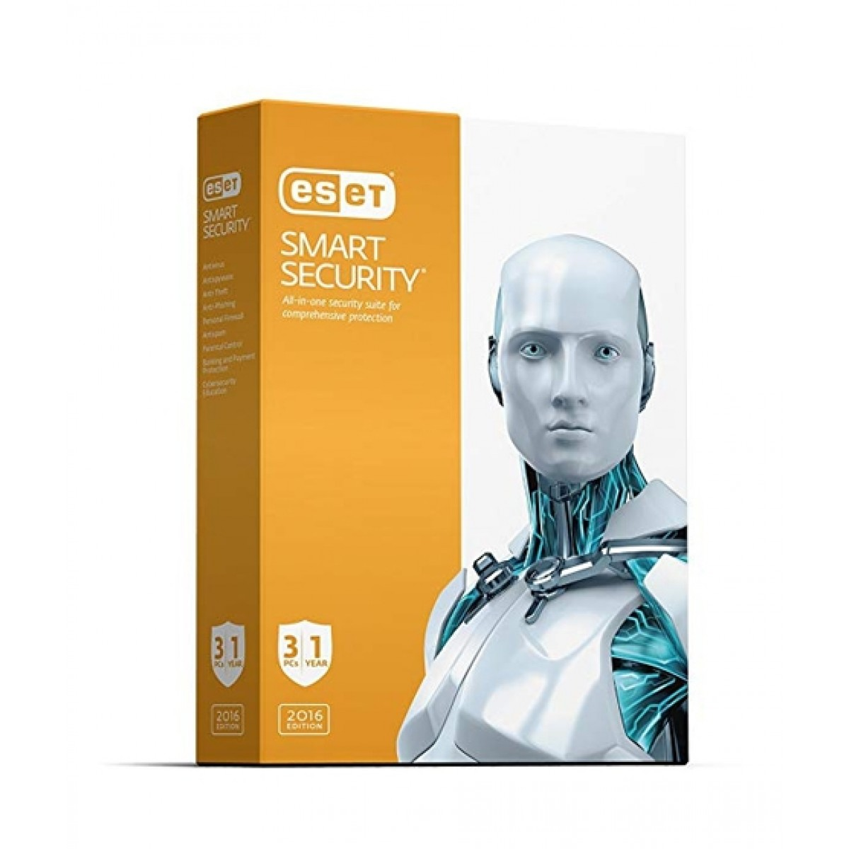 ESET Smart Security 3 PC (1 Year License)