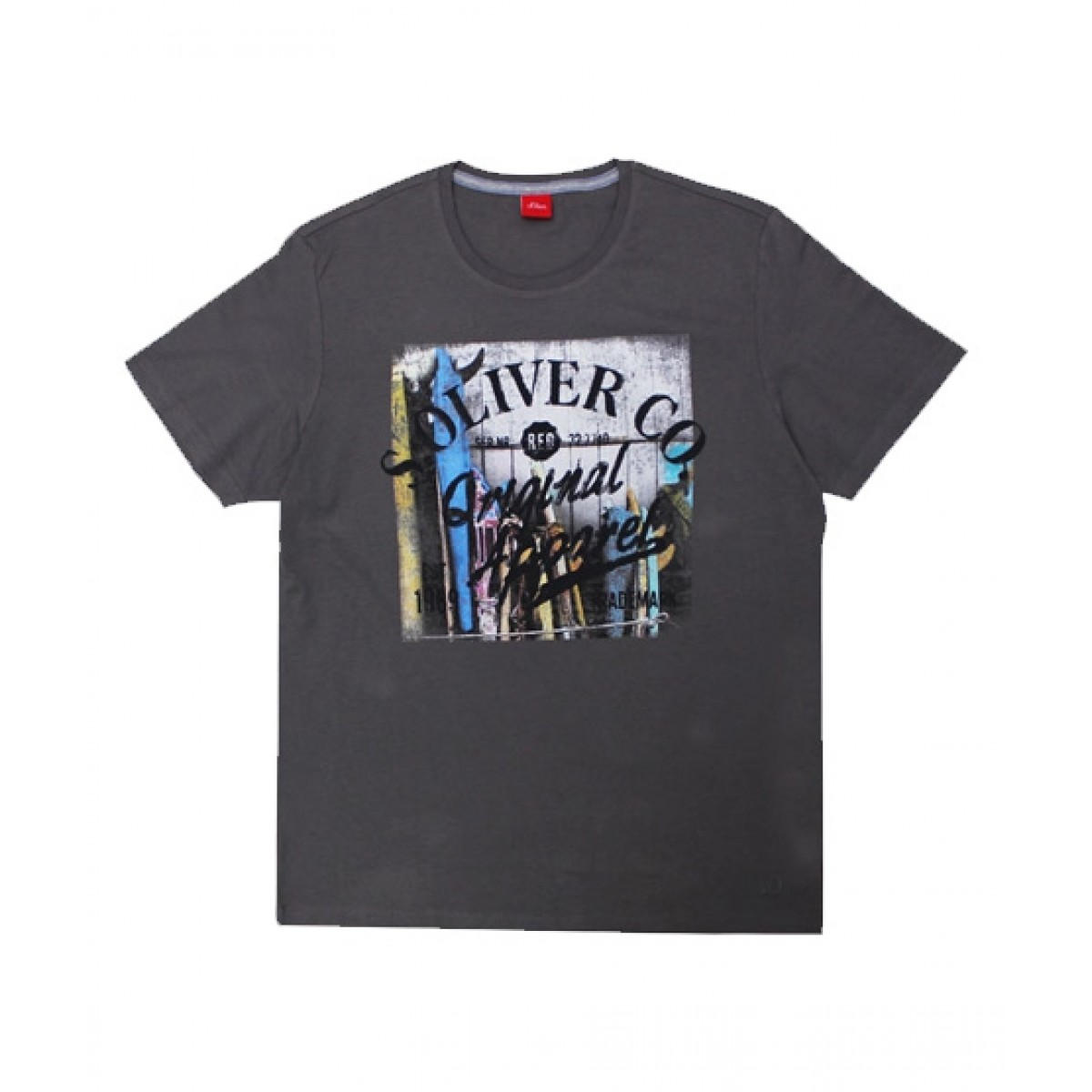 check out 55e7e 4d3a2 Expostore S.Oliver T-Shirt For Men (C-1-37)