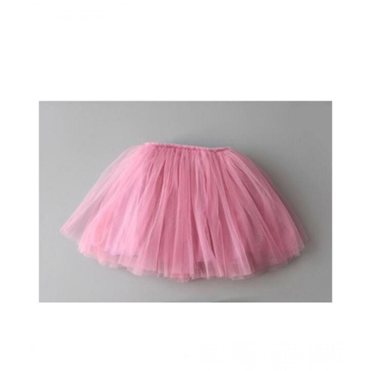 FashionValley Multilayer Fluffy Mesh Skirt For Baby Girl (0053)
