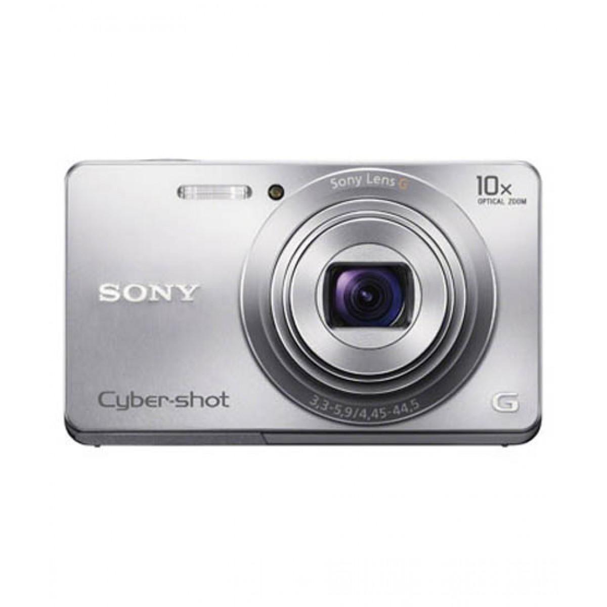 Sony DSC-W690 Cybershot Camera Silver