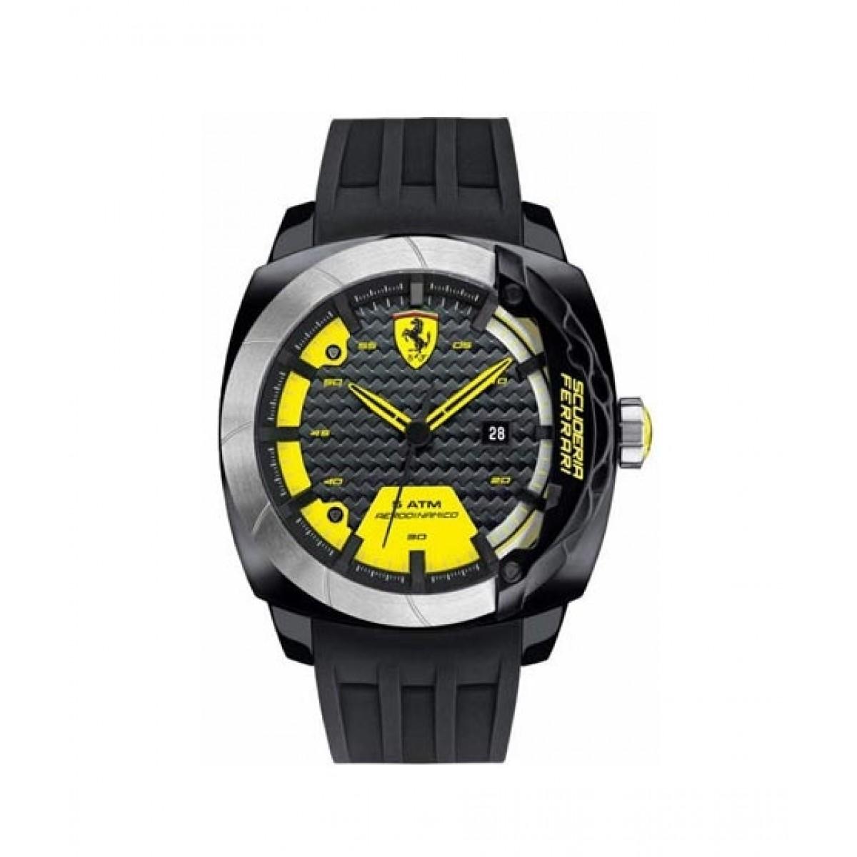 Ferrari Aerodinamico Men's Watch Black (830204)