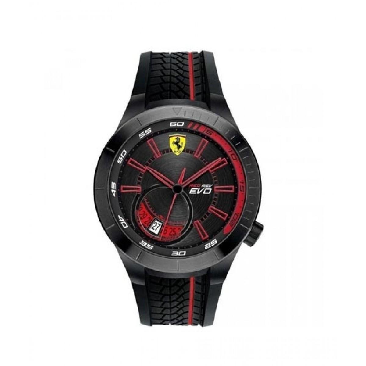 Ferrari RedRev Evo Men's Watch Black (830339)