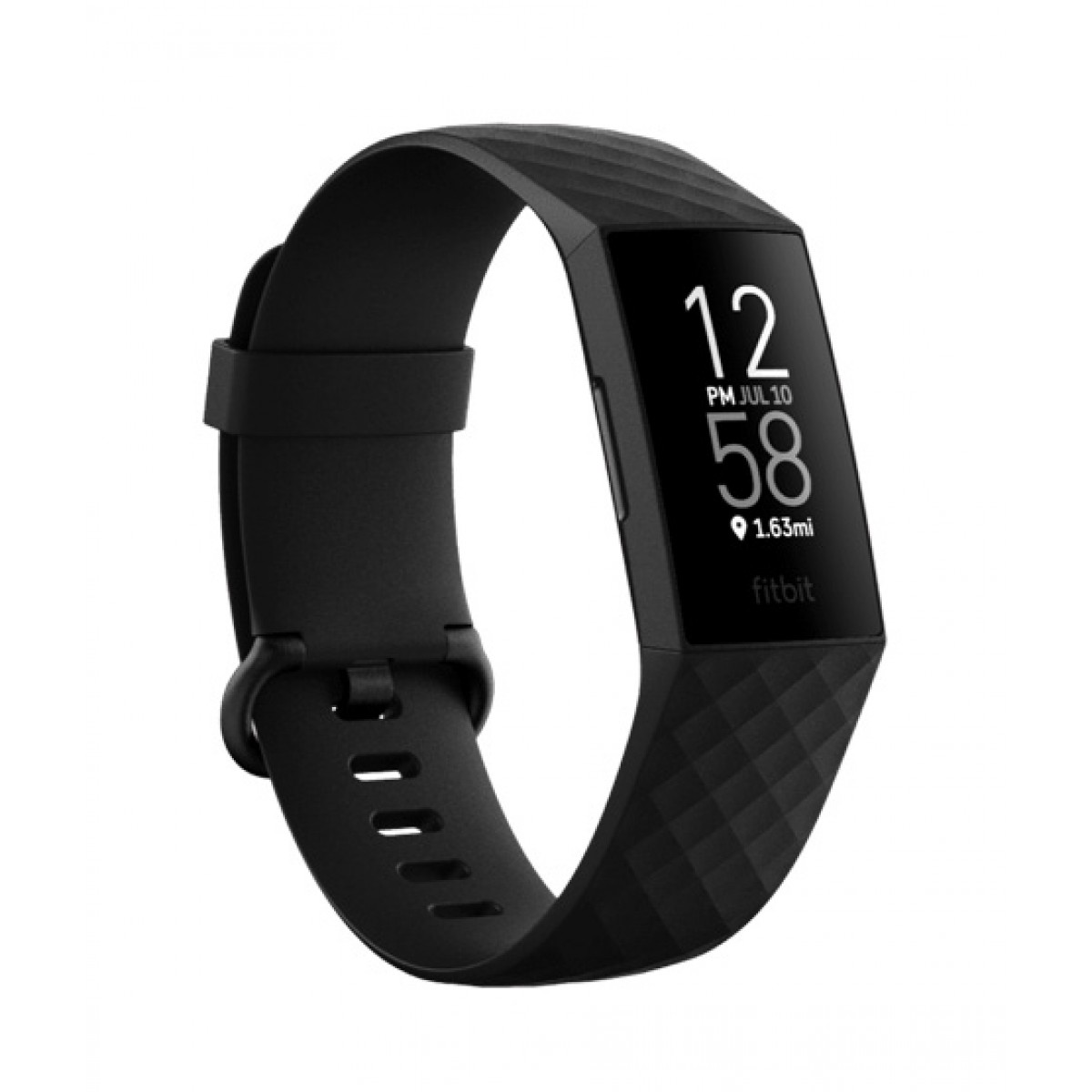 Fitbit Charge 4 Fitness Tracker Black - Small/Large Bands Included