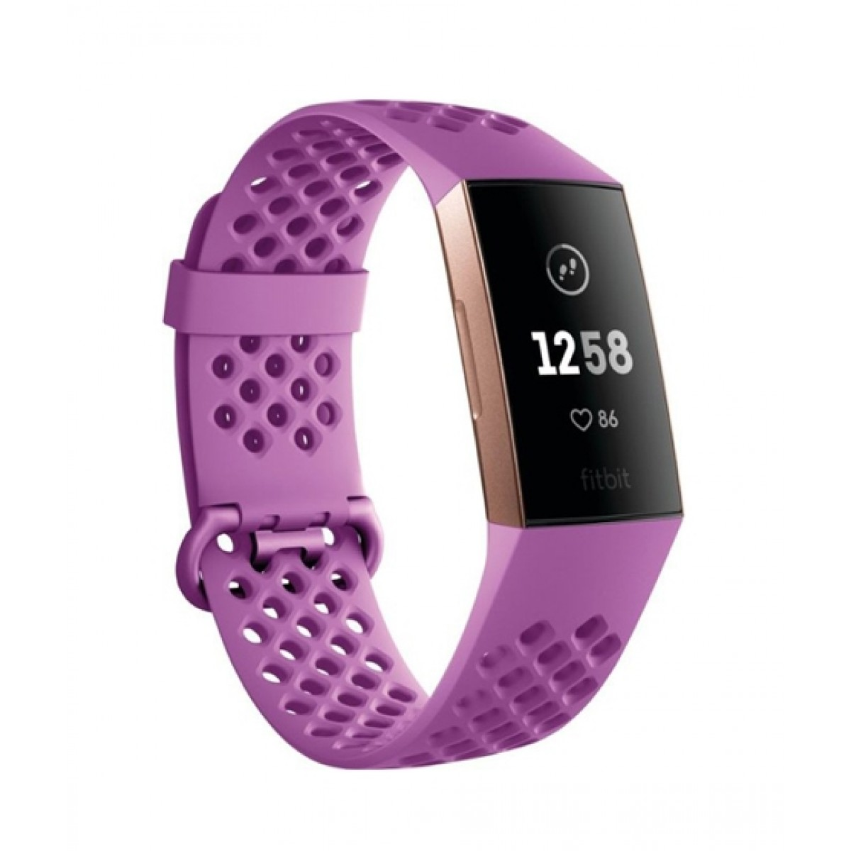 Fitbit Charge 3 Special Edition Fitness Tracker Berry Sport