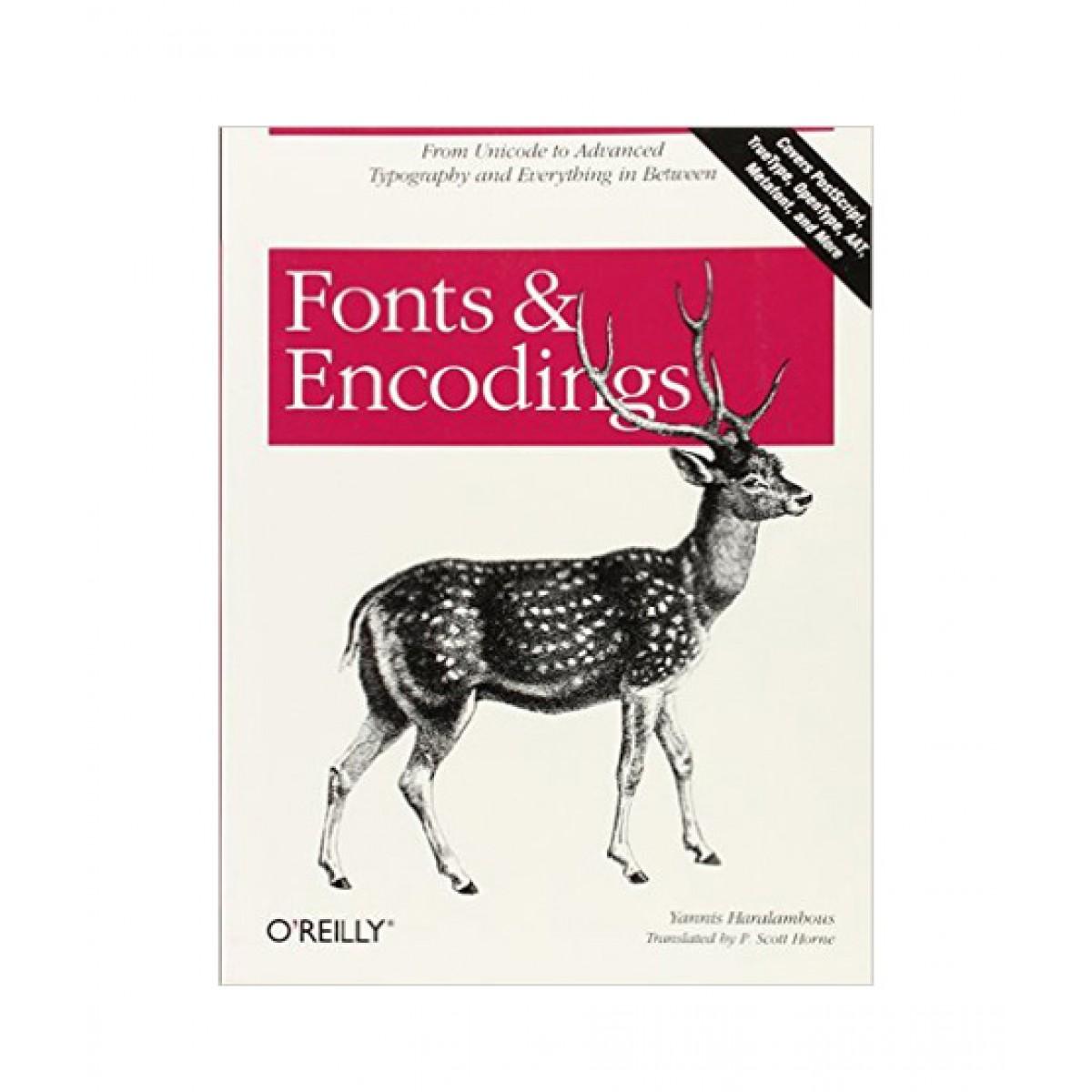 Fonts & Encodings Book