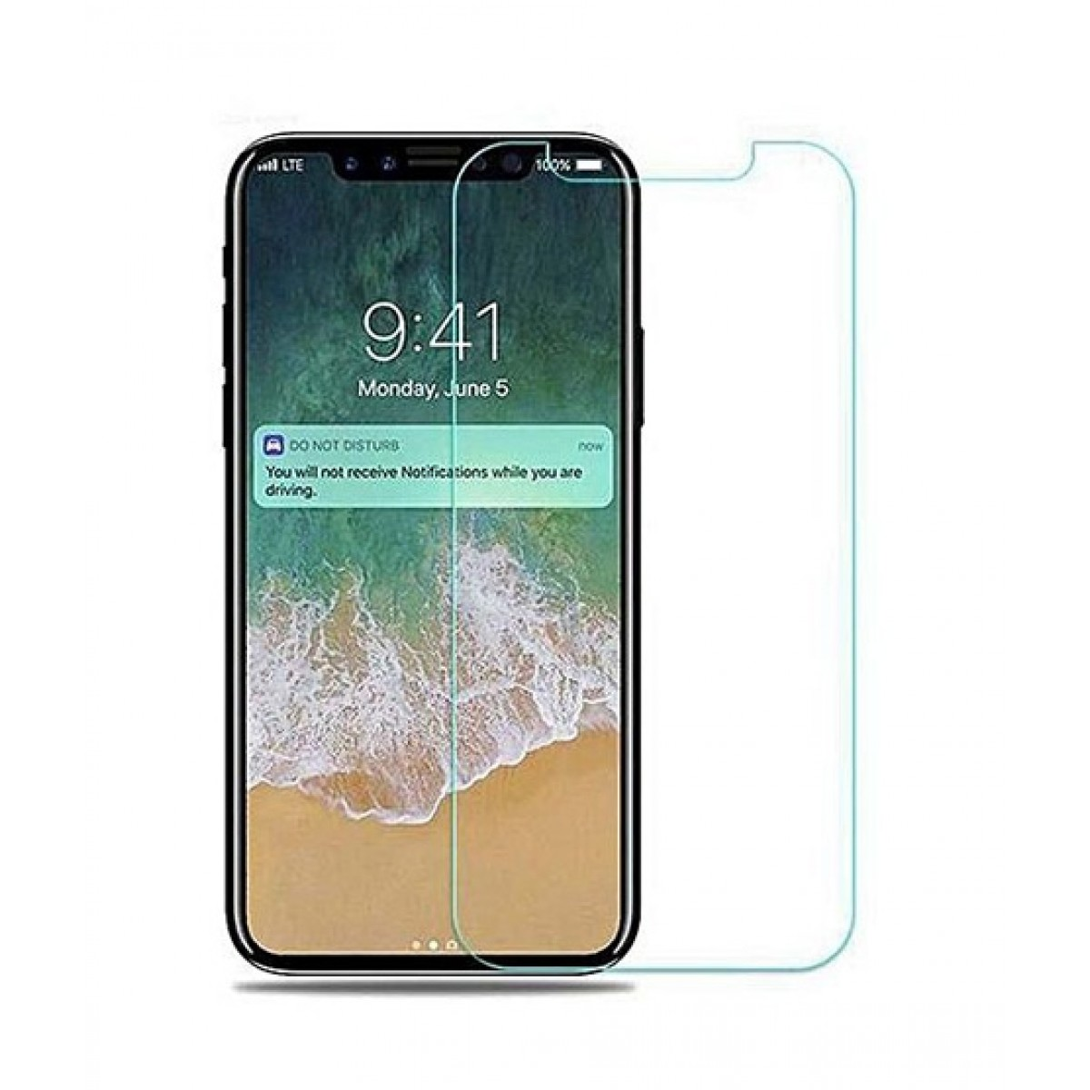 super popular 6c4b3 230fb Cellarena Tempered Glass Screen Protector For iPhone X