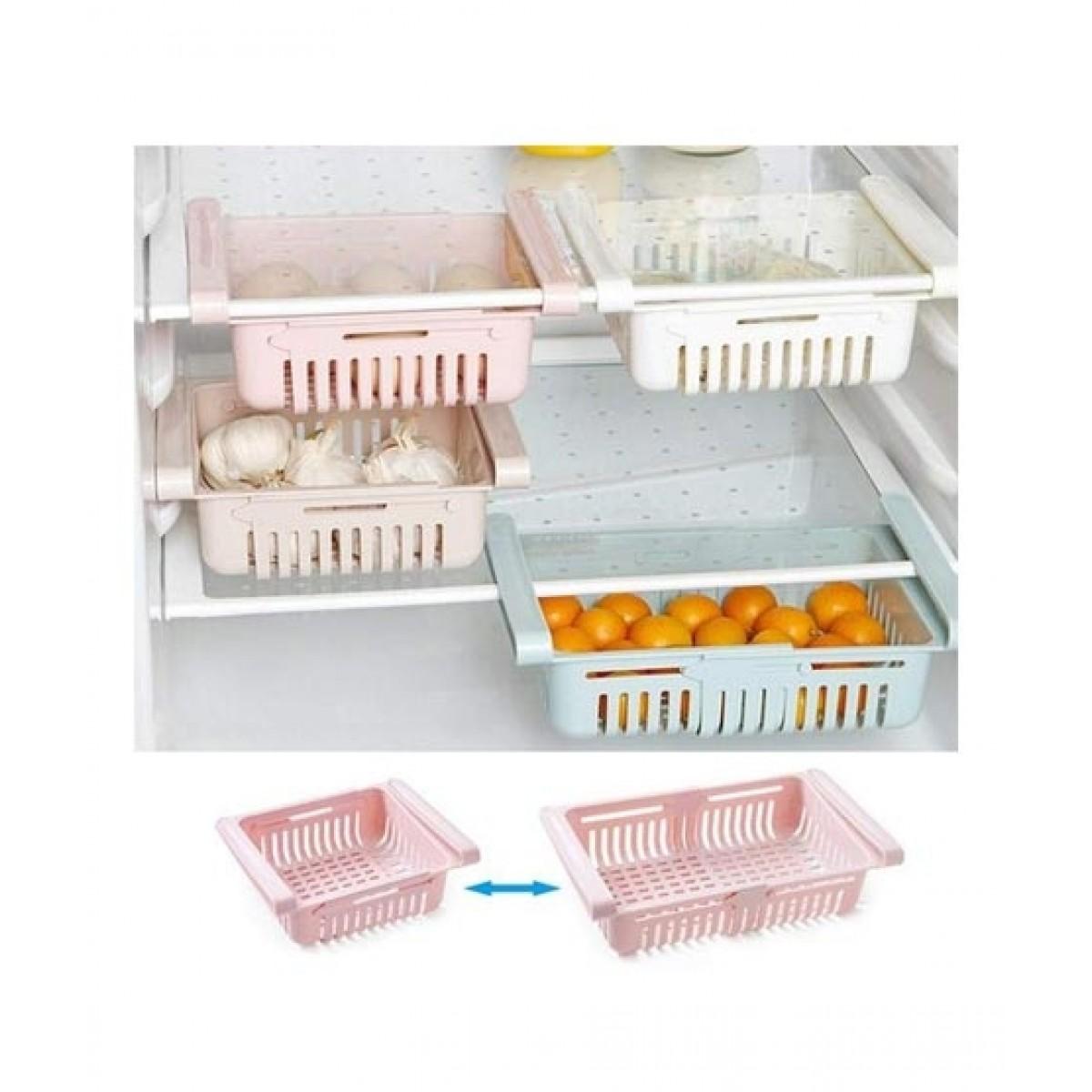 G-Mart Adjustable Fridge Storage Basket (0049)