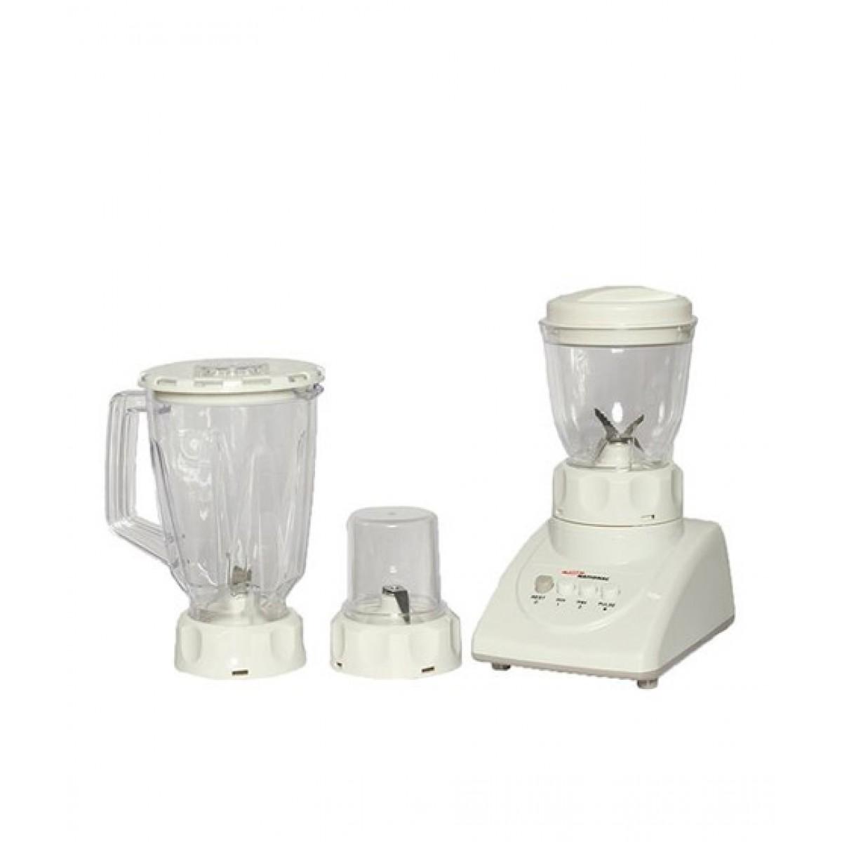 Gaba National Blender & Grinder 3 IN 1 (GN-2837)