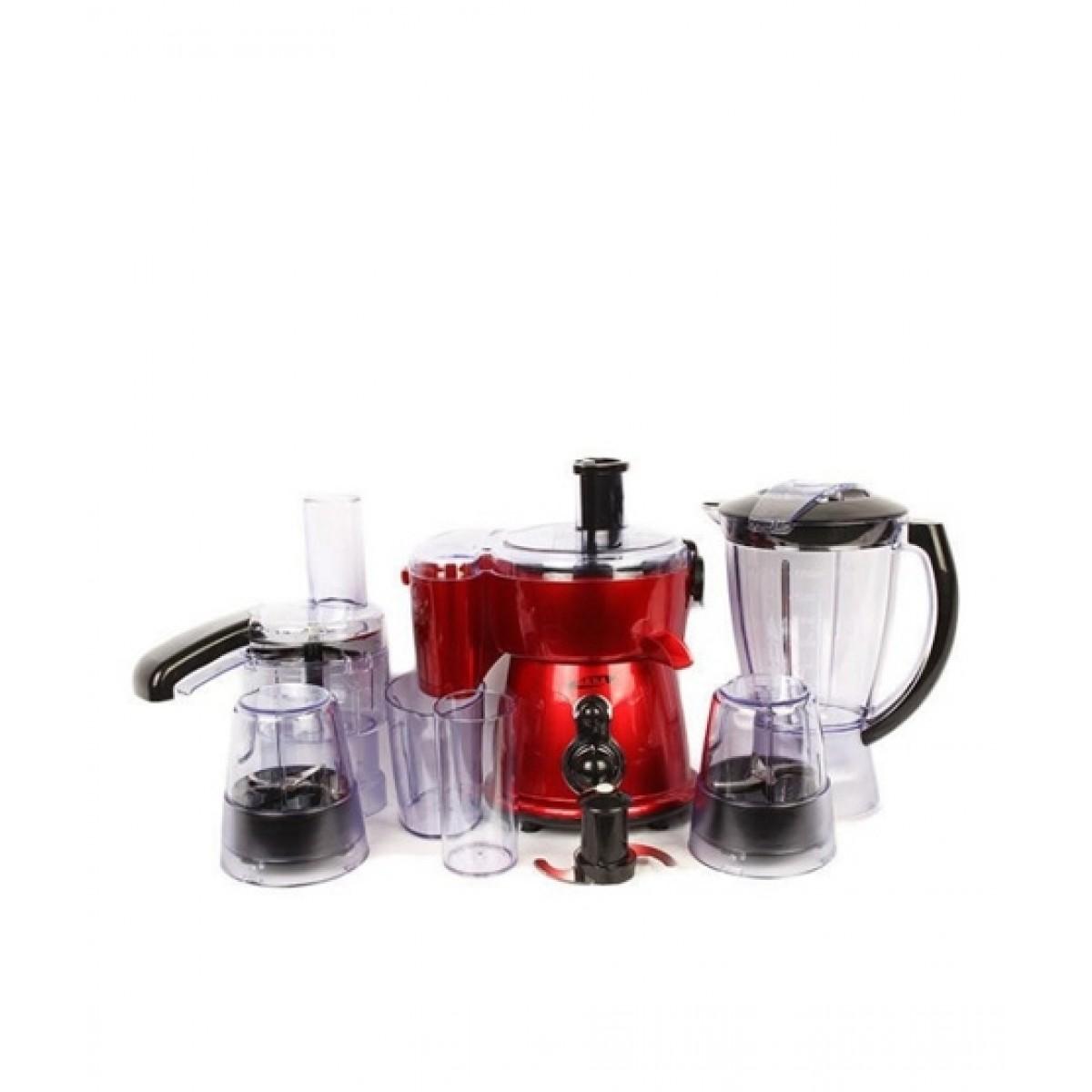 Gaba National Food Processor Red (GN-922-DLX)