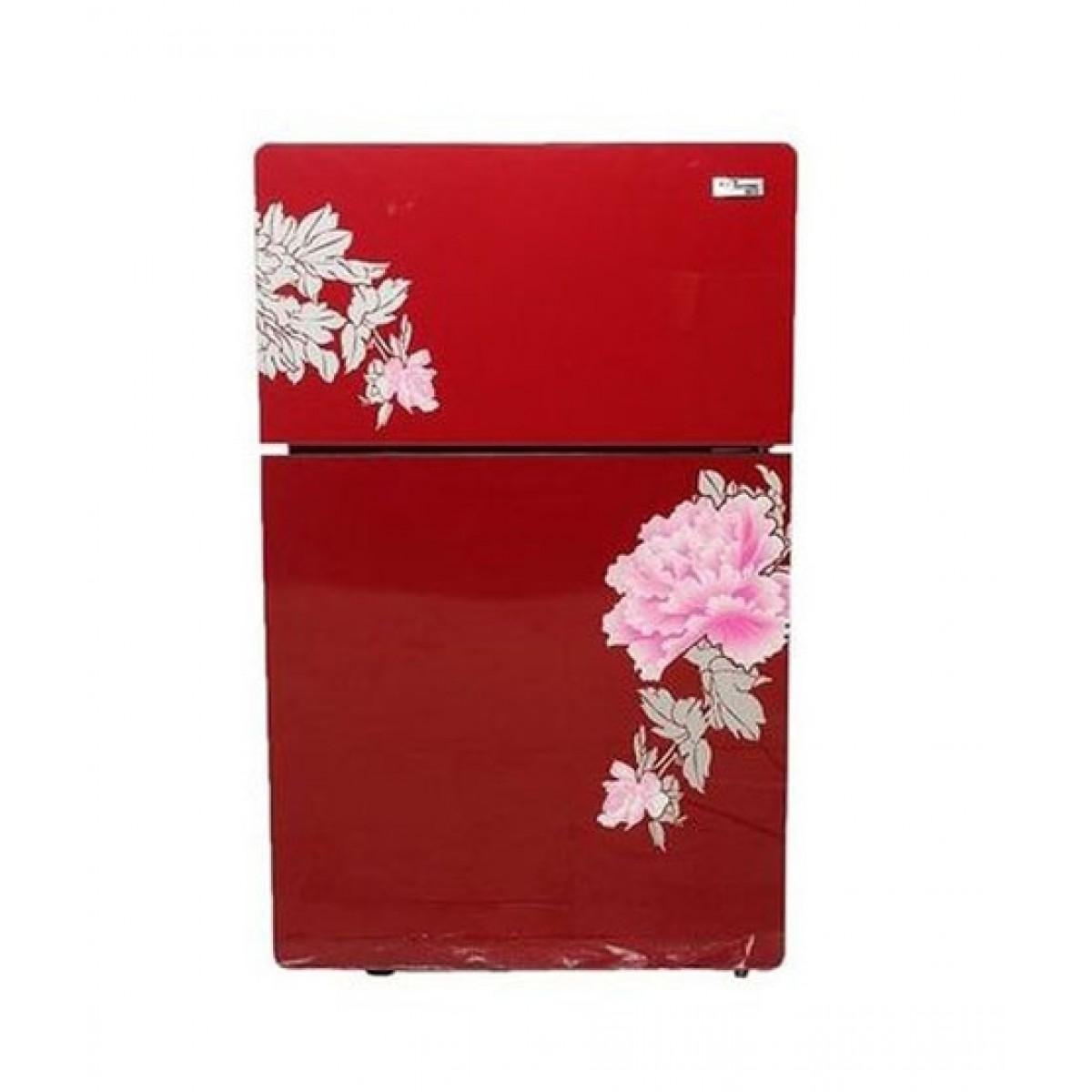 Gaba National Glass Door Freezer-on-Top Compact Refrigerator 7 cu ft (GNR-167)