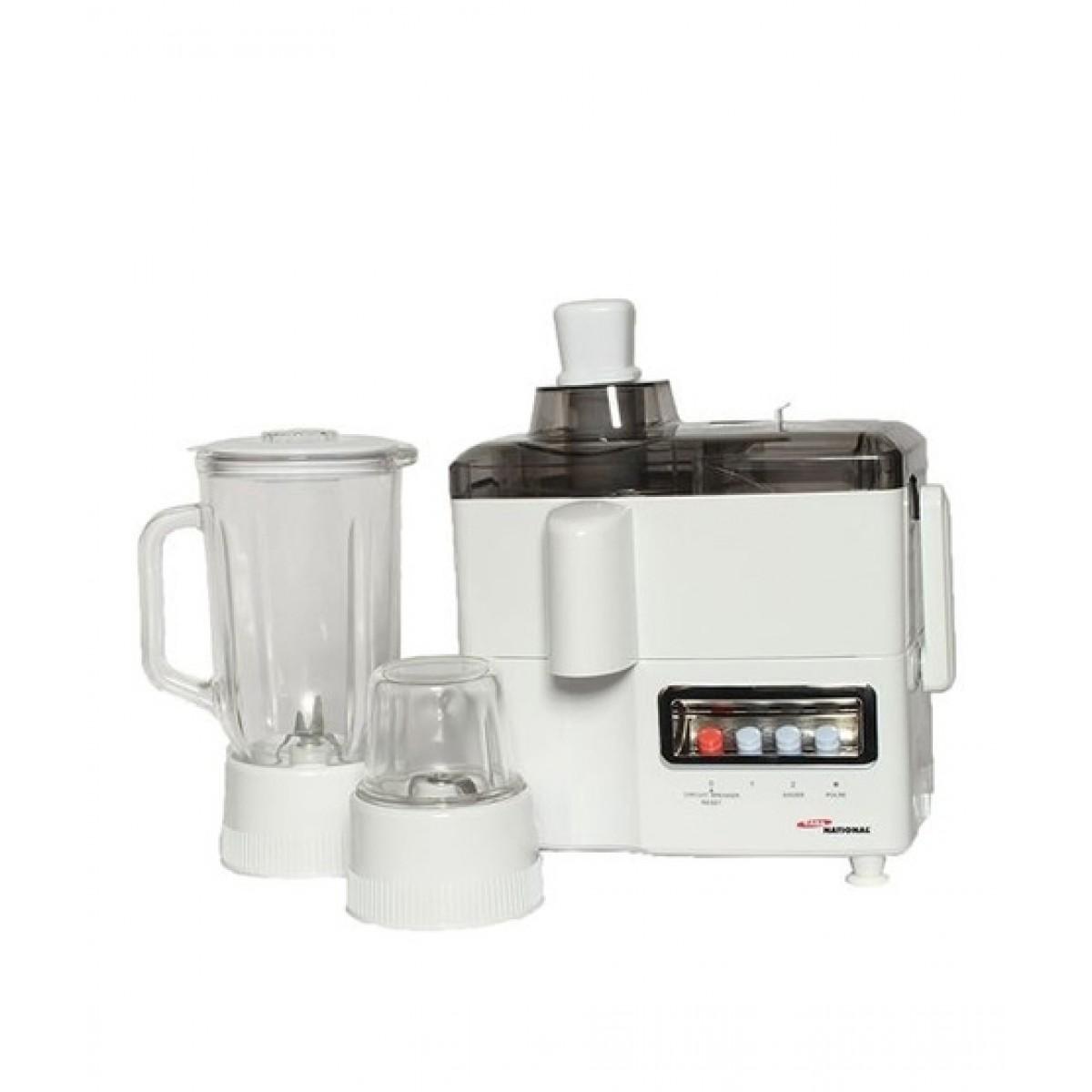Gaba National Juicer Blender & Grinder 3 in 1 (GN-1777)