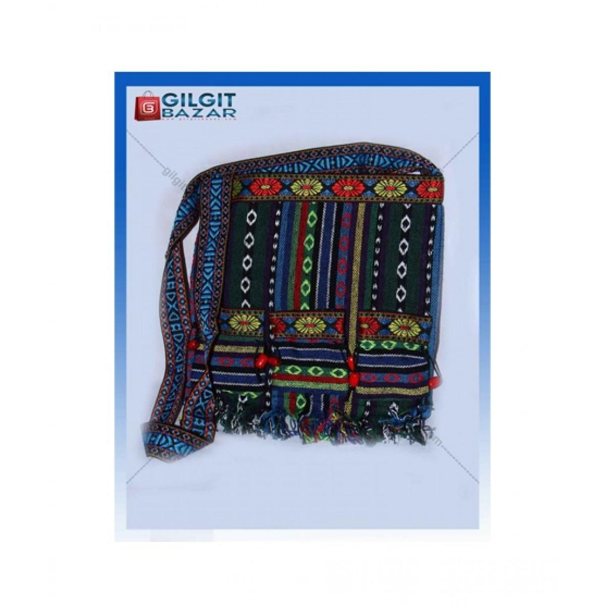 Gilgit Bazar Ladies Hand Bag For Women Black (Gb2506)
