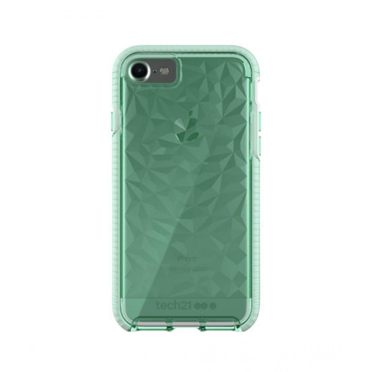 promo code d77d1 ba0a1 Tech21 Evo Gem Green Case for iPhone 8