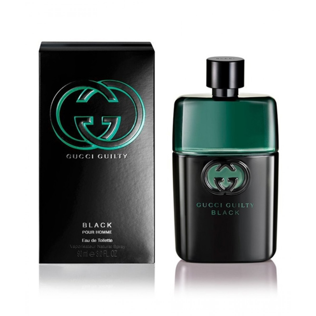 Gucci Guilty Black Pour Homme Eau De Toilette For Men 90ml