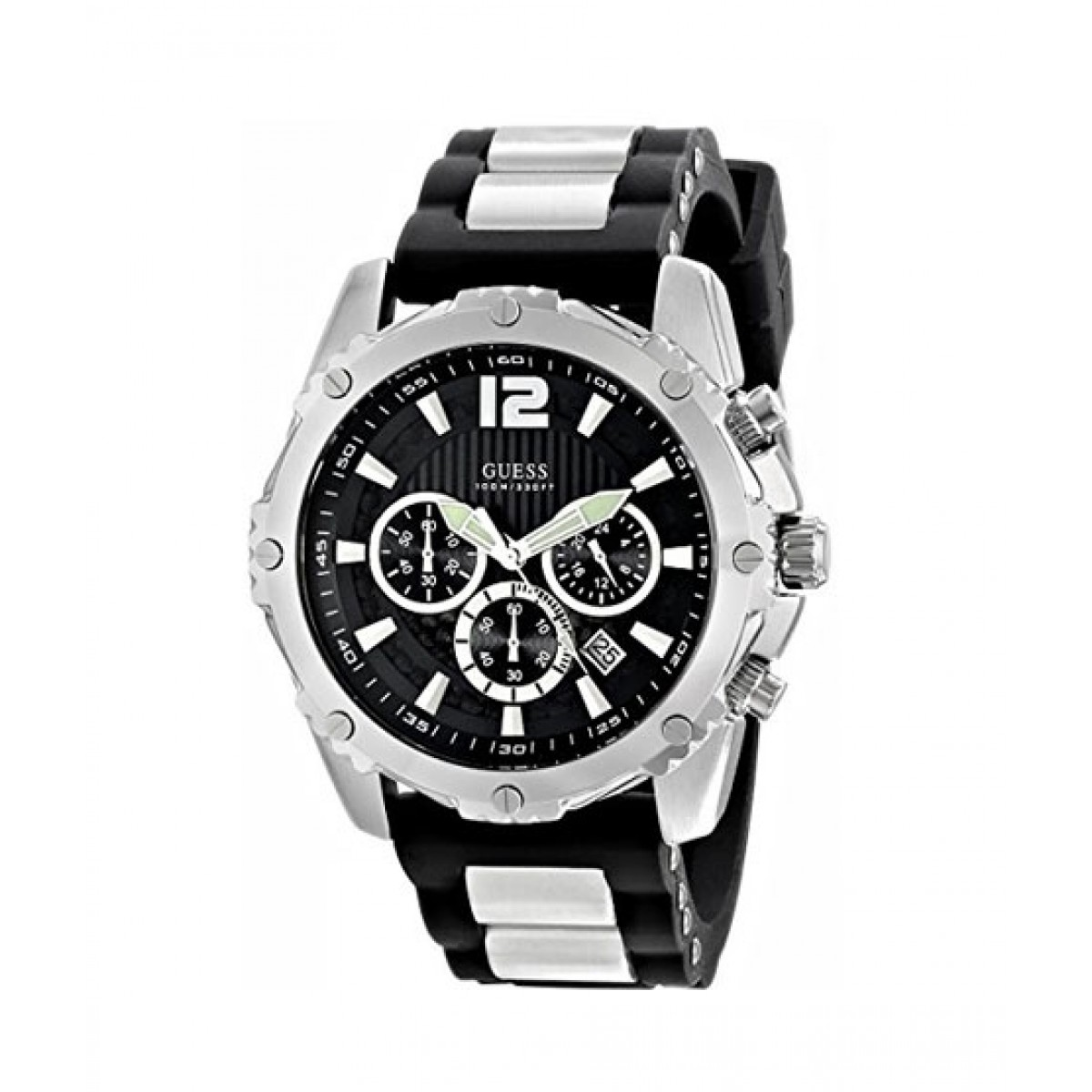 d460bd2ed66e6 Guess Chronograph Men's Watch Black (U0167G1)