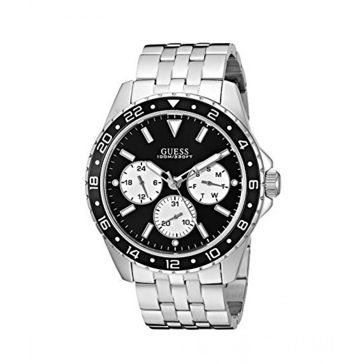 Dichiarazione Ripples Vendita  Guess Chronograph Men's Watch Price in Pakistan | Buy Guess Men's Watch  Silver-Tone (U1107G1) | iShopping.pk