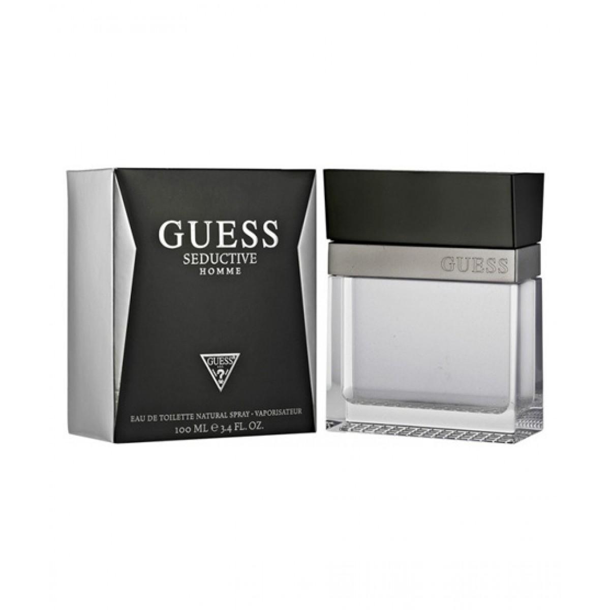 Perfume Men Edt For 100ml Seductive Guess Homme OkiPXZuT