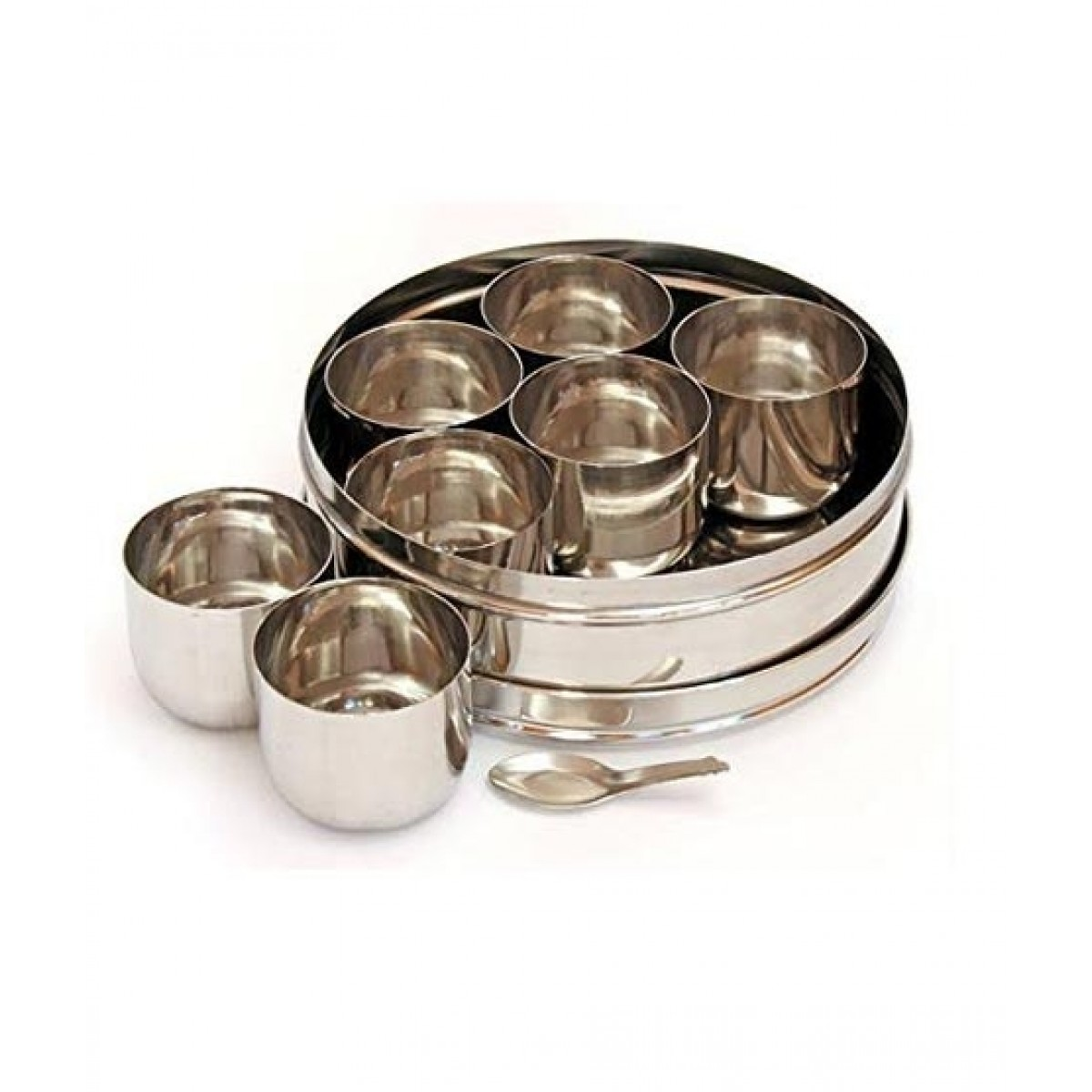 Hakimi Steel Stainless Steel Spice Box Containers