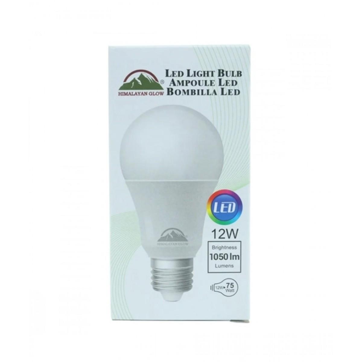 Himalayan Glow Cool White LED Light Bulb 12W