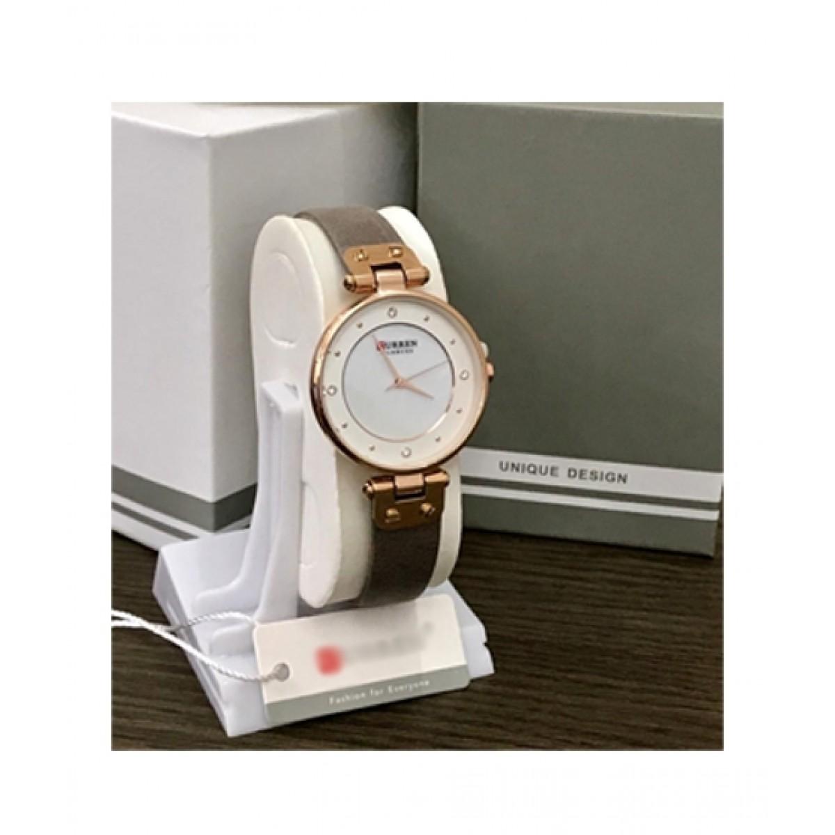 HM Analog Watch For Women Grey (0032)