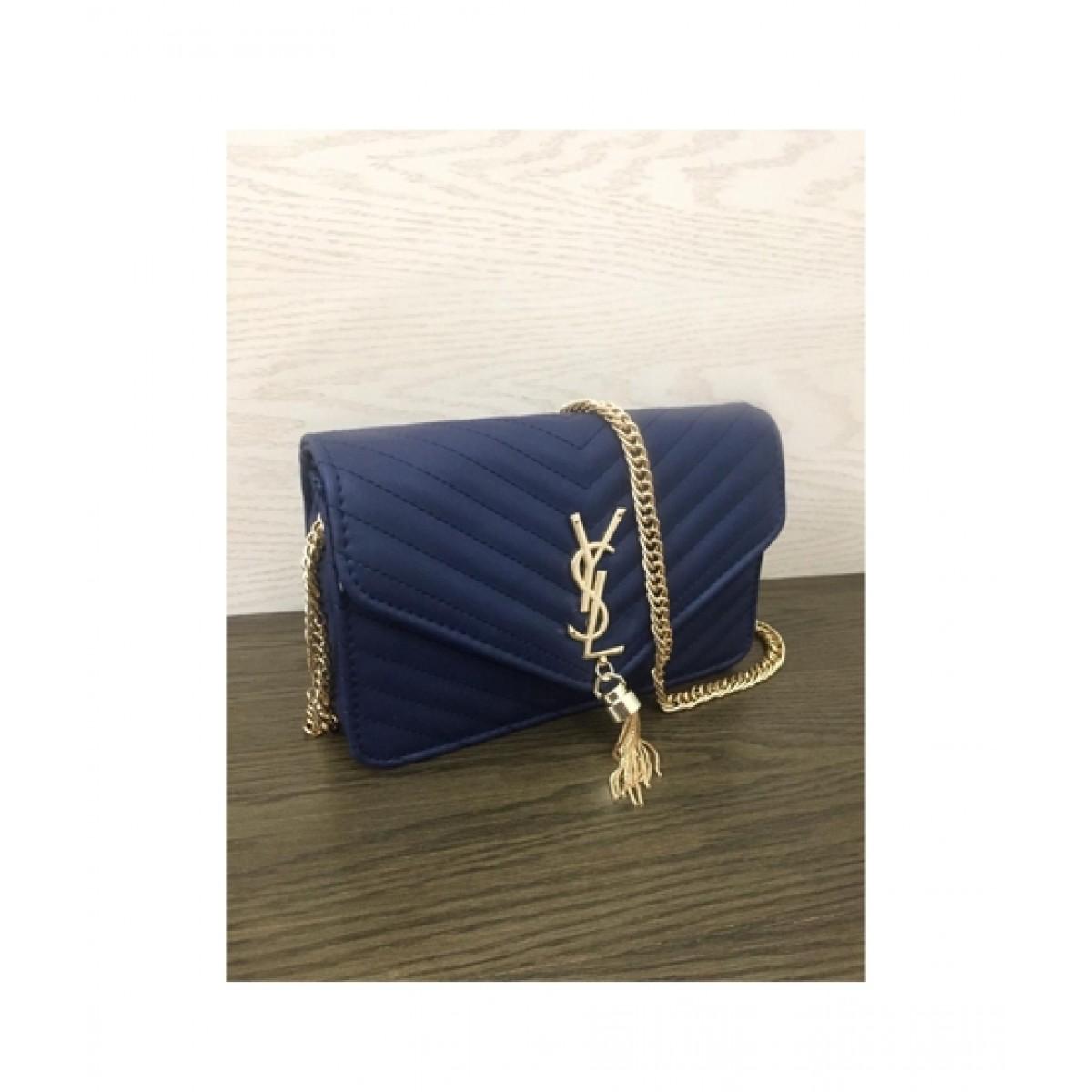 HM Cross Body Bag For Women Blue (0020)