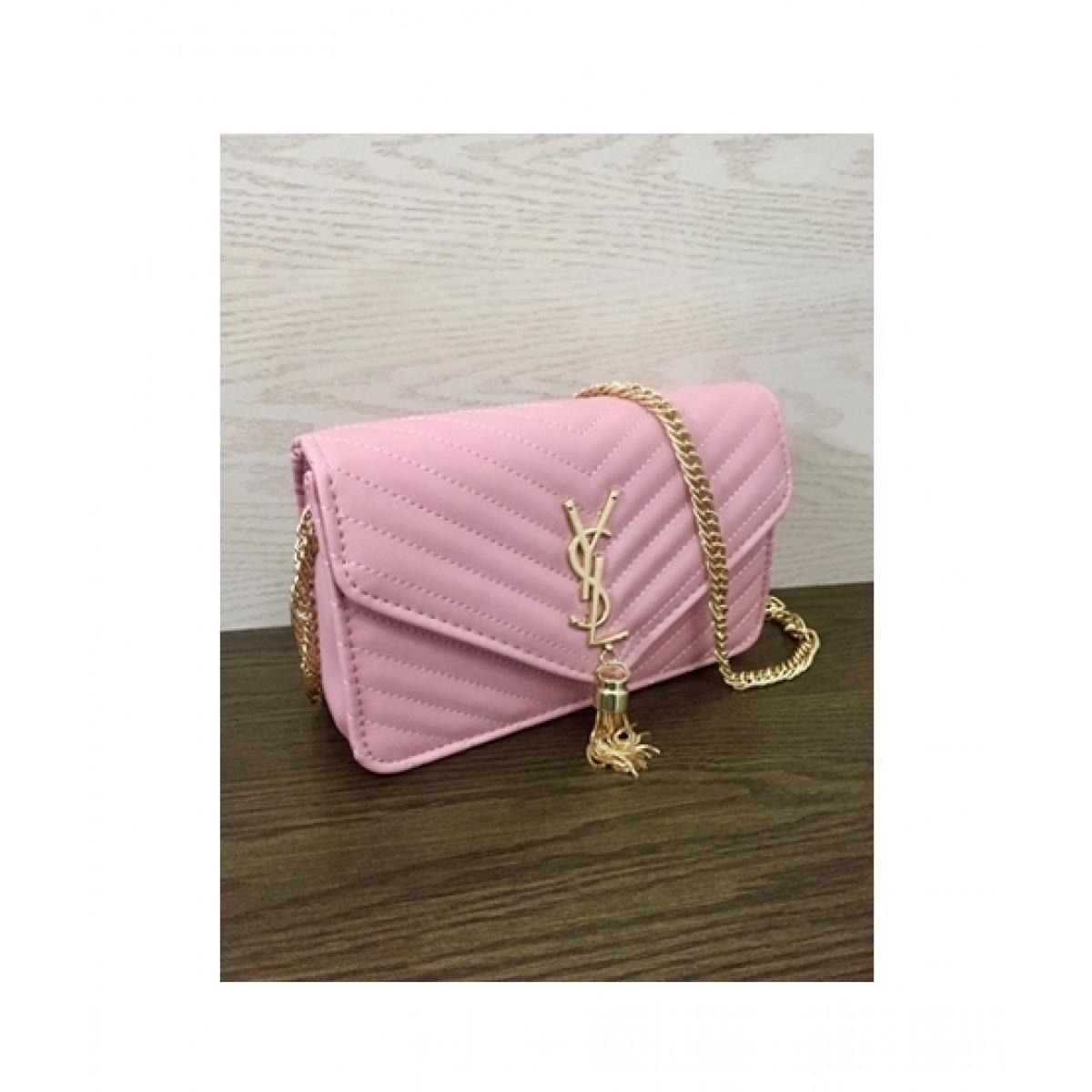 HM Cross Body Bag For Women Pink (0017)