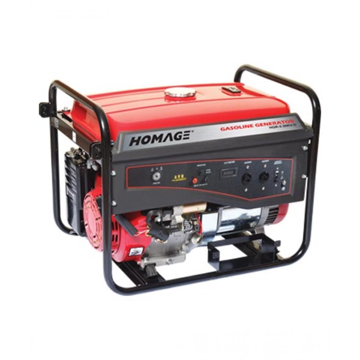 Homage Generator With Wheel+Gas Kit+Oil (HGR-2.50 KV-D)