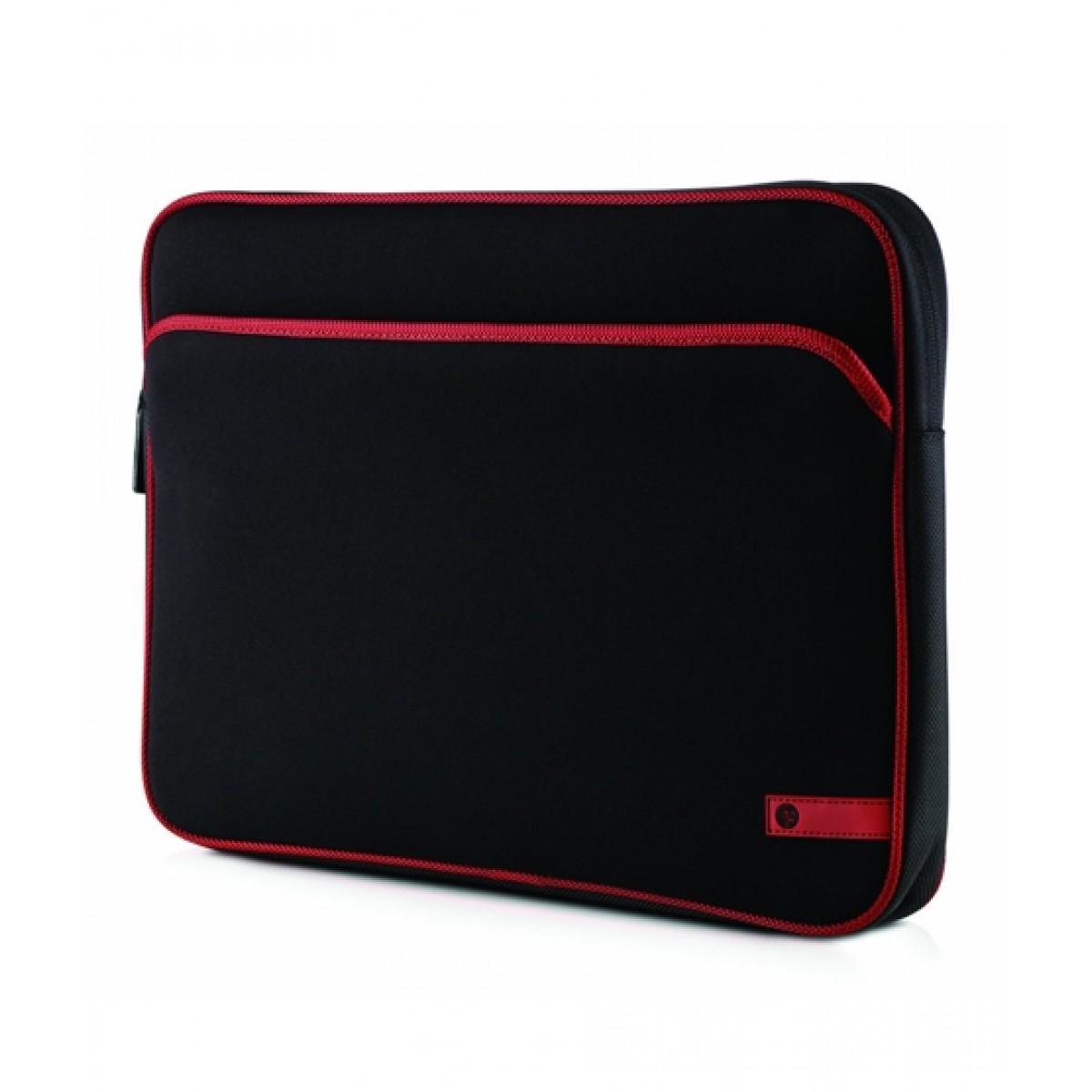 "HP 16"" Notebook Sleeve Black/Red (VZ346AA)"