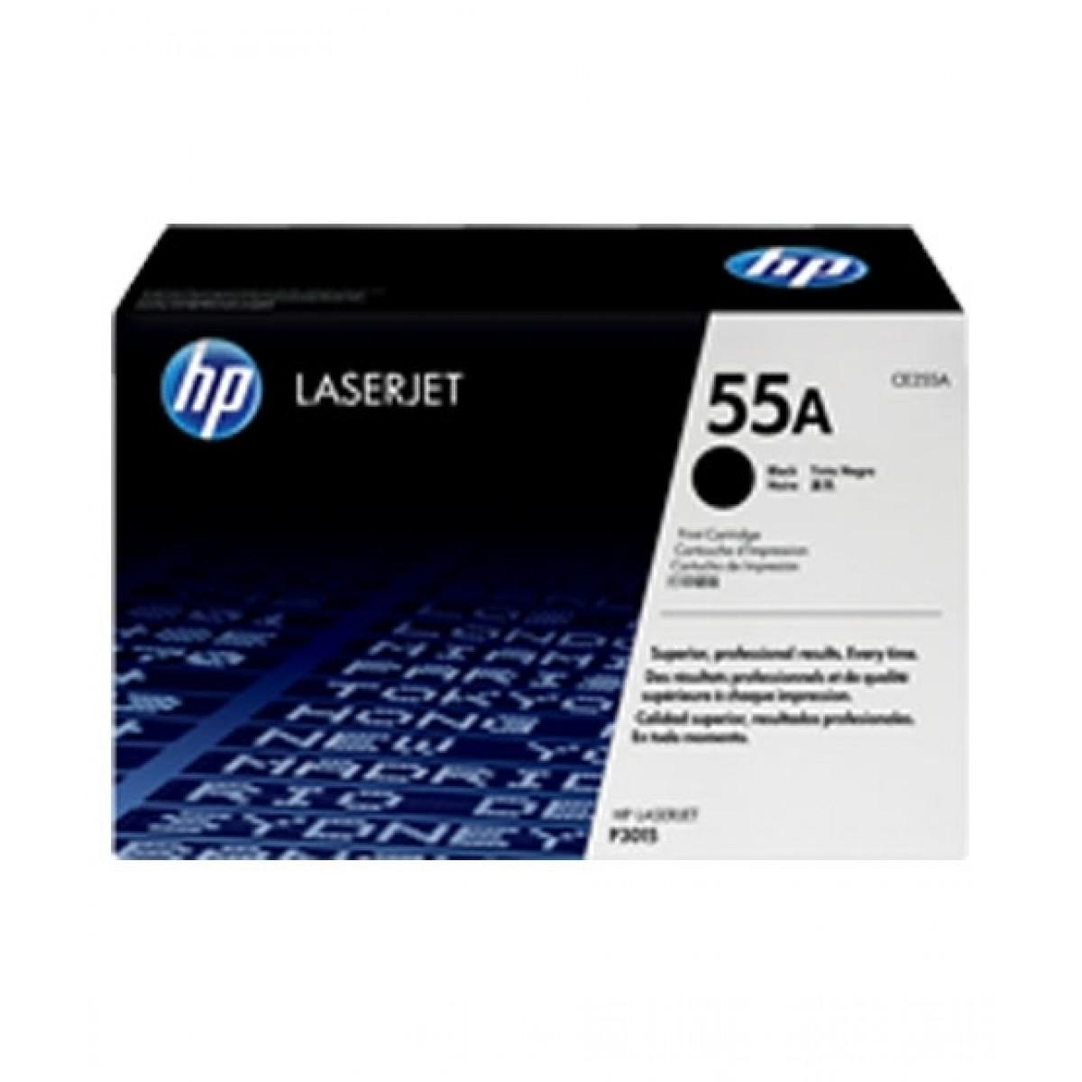 HP 55A LaserJet Toner Cartridge Black (CE255A)