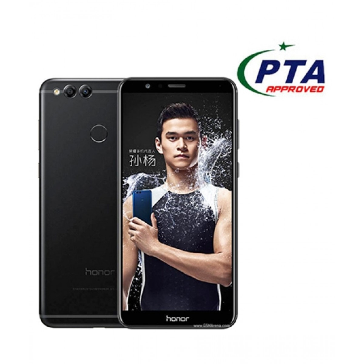 Honor 7X 32GB 3GB Black - Official Warranty