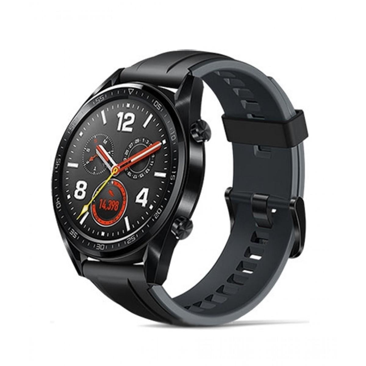 Huawei Watch GT Smartwatch Black Stainless Steel