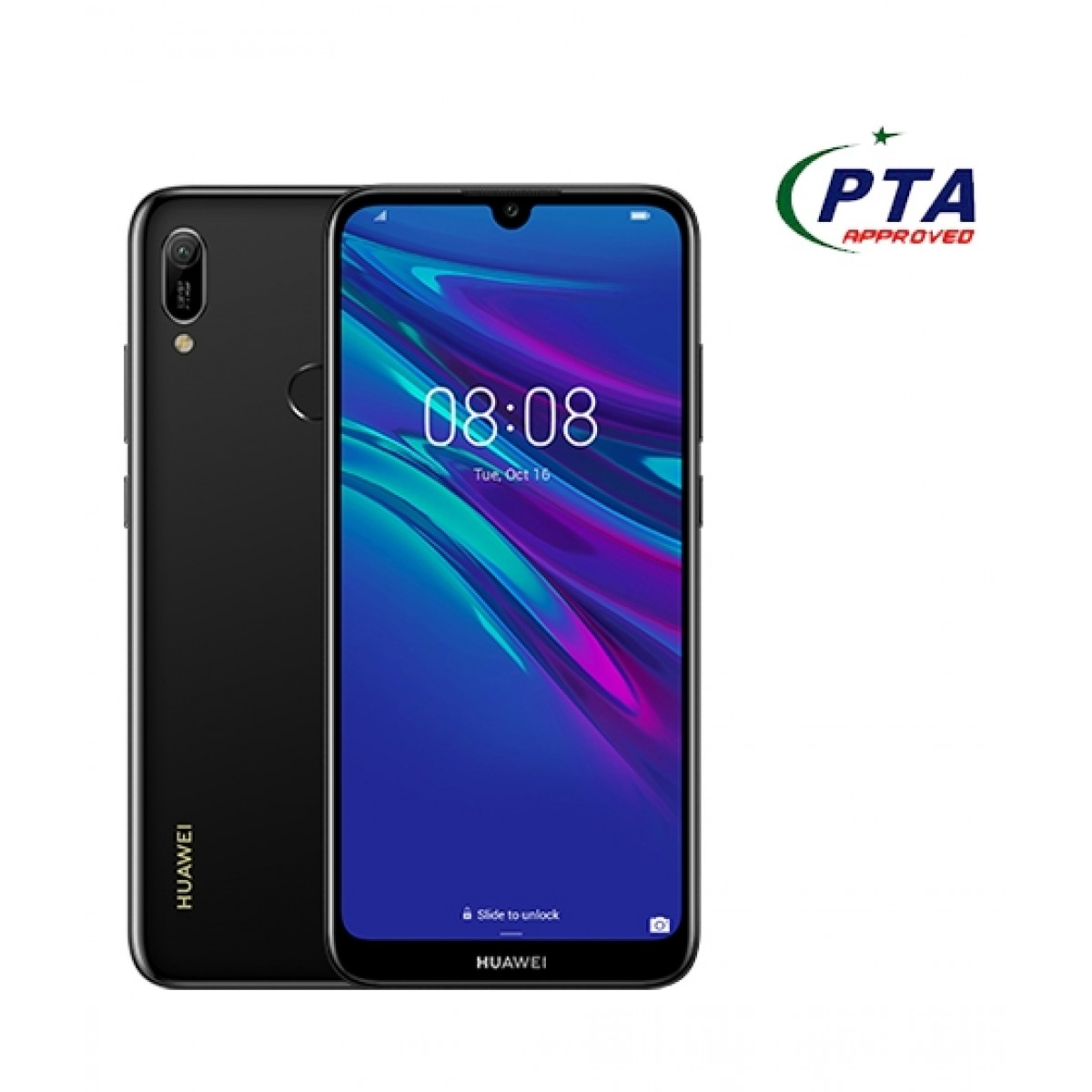 Huawei Y6 Prime 2019 32GB 2GB RAM Dual Sim Midnight Black