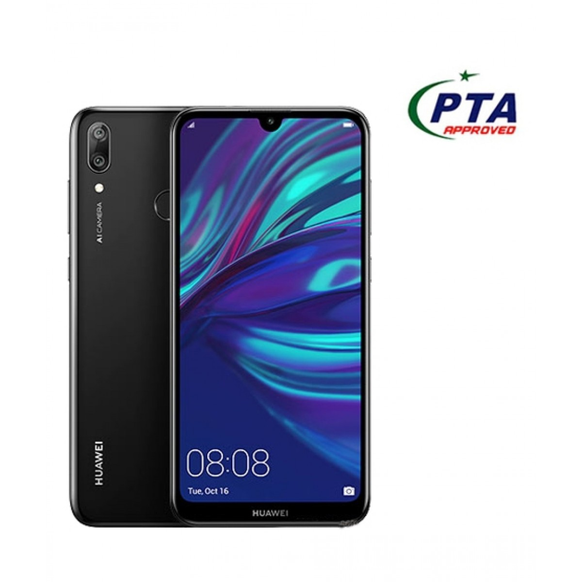 Huawei Y7 Prime 2019 32GB Dual Sim Midnight Black
