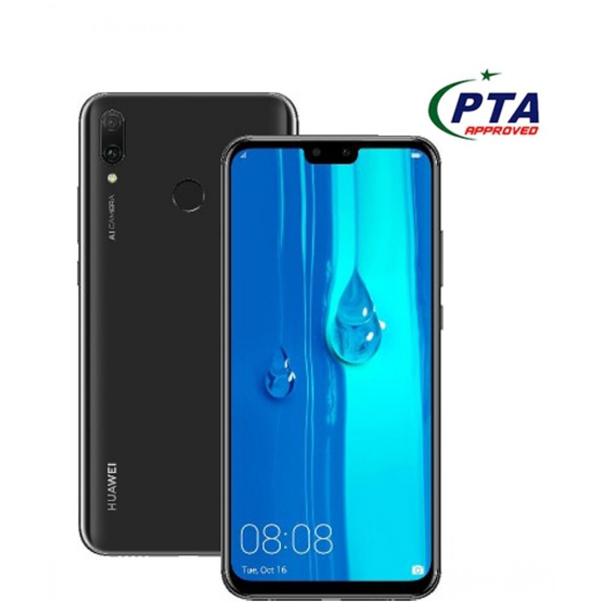 Huawei Y9 2019 64GB Dual Sim Midnight Black