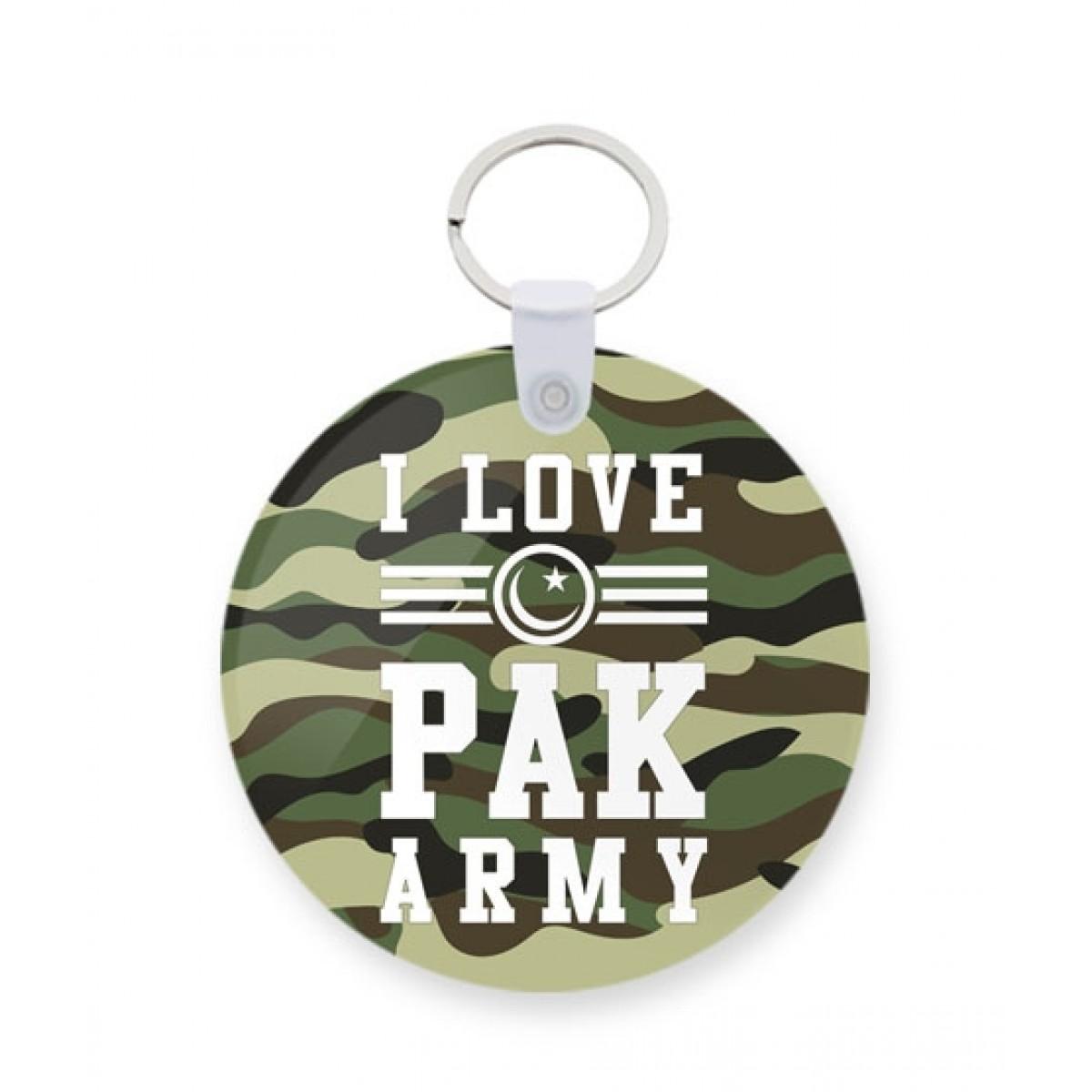 The Warehouse I Love Pak Army Printed Key Chain (KC-395)