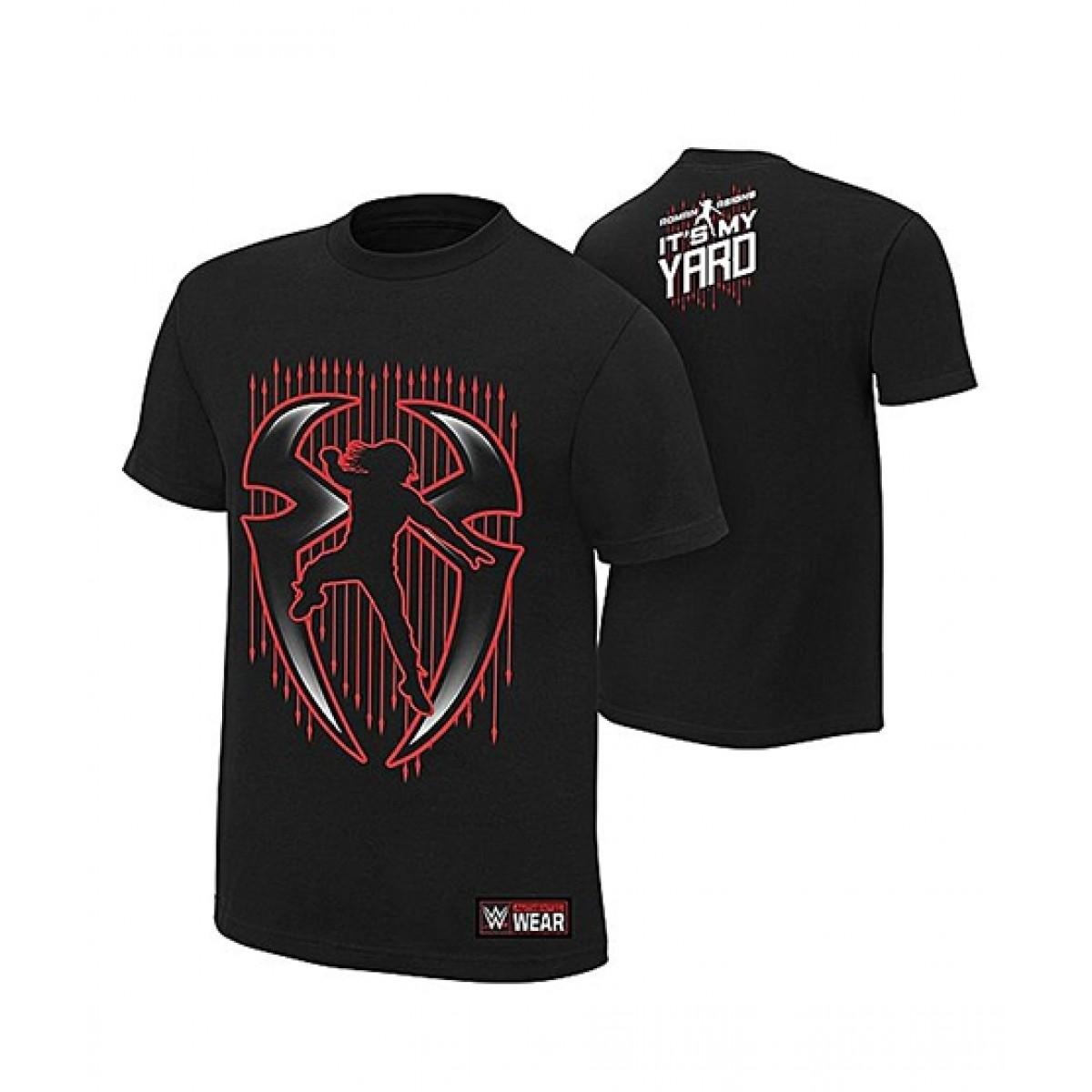 IDOL Fashion Roman Reigns Printed T-Shirt For Men Black