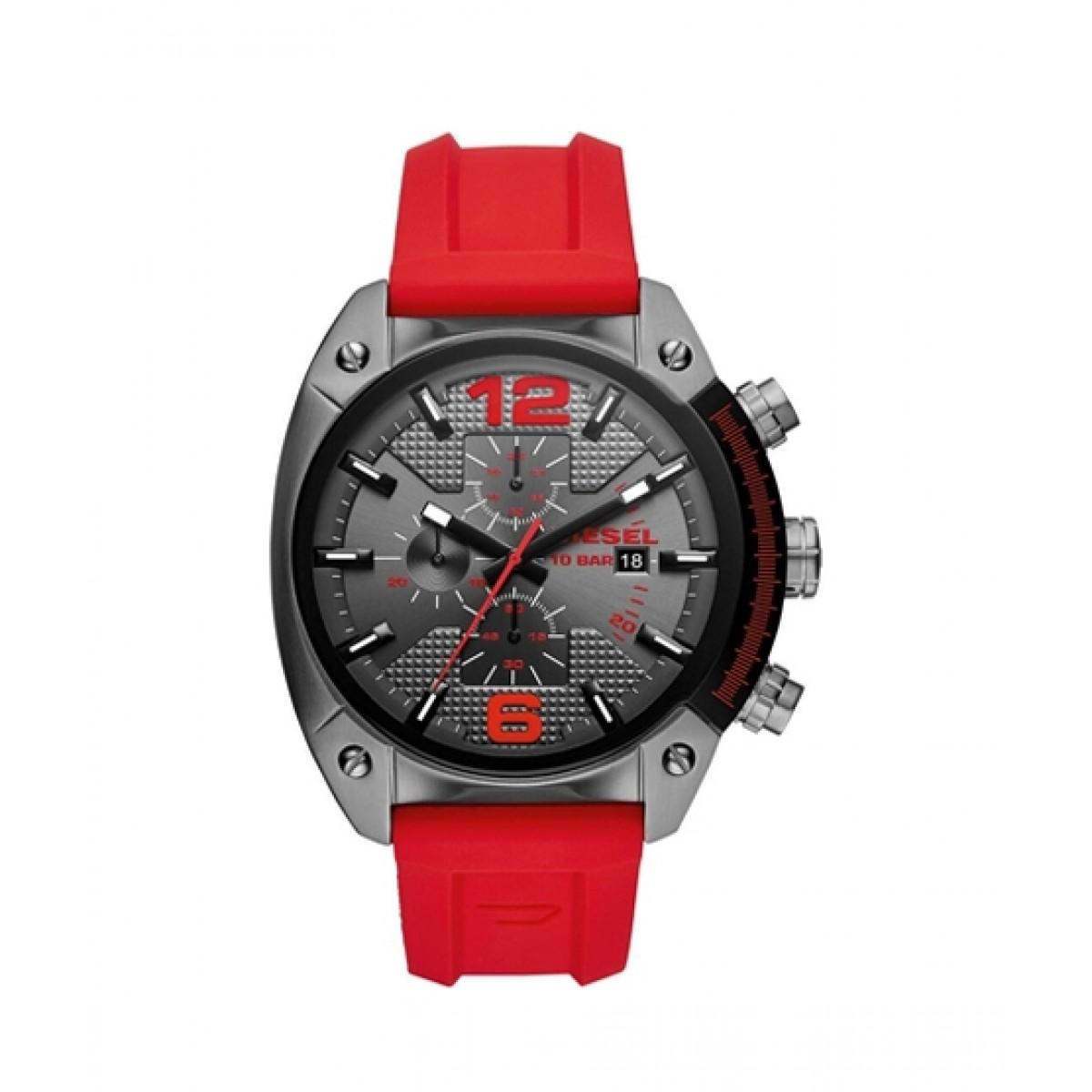 Diesel Overflow Men's Watch Red (DZ4481)