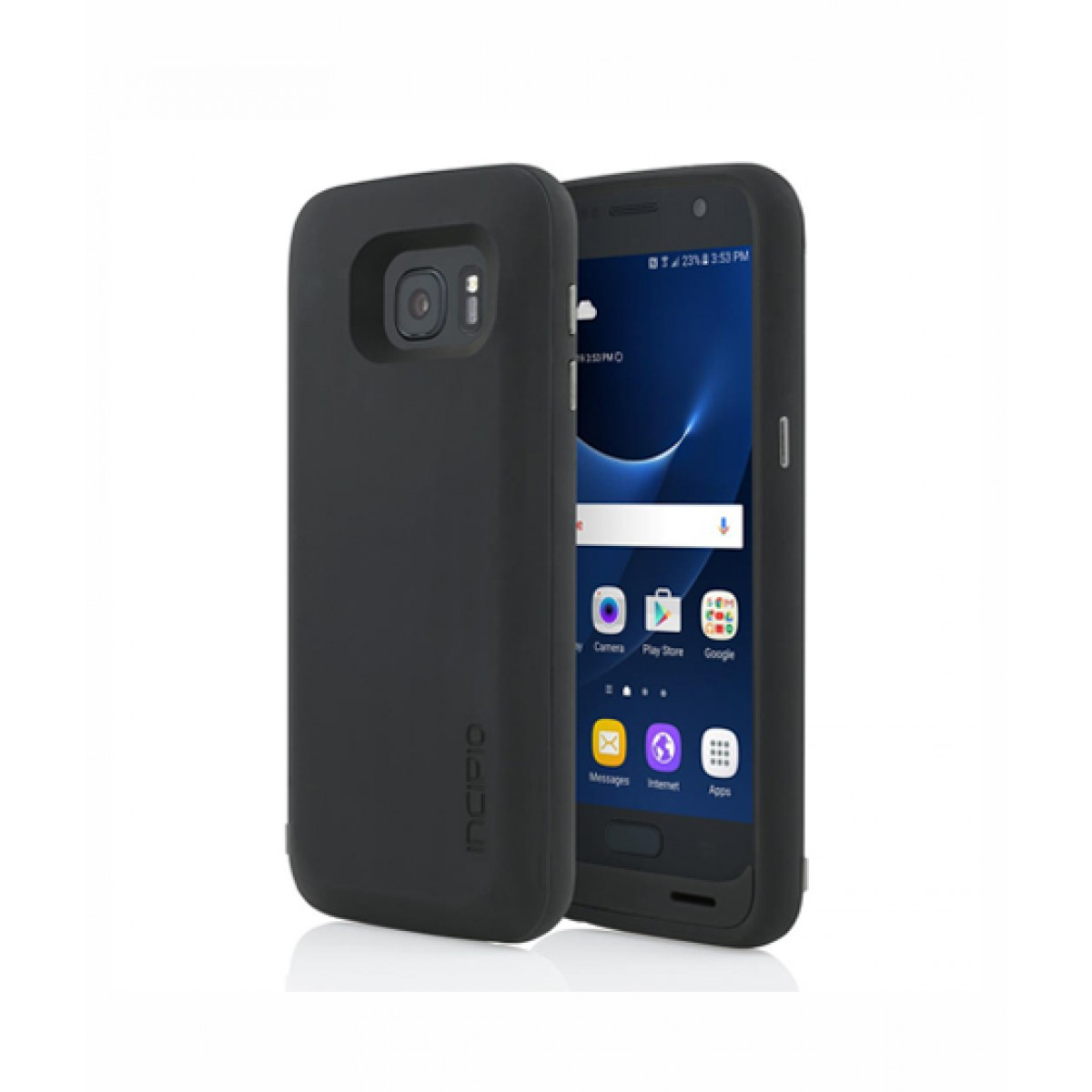 wholesale dealer e6115 9488e Incipio Offgrid Backup Battery Black Case For Galaxy S7