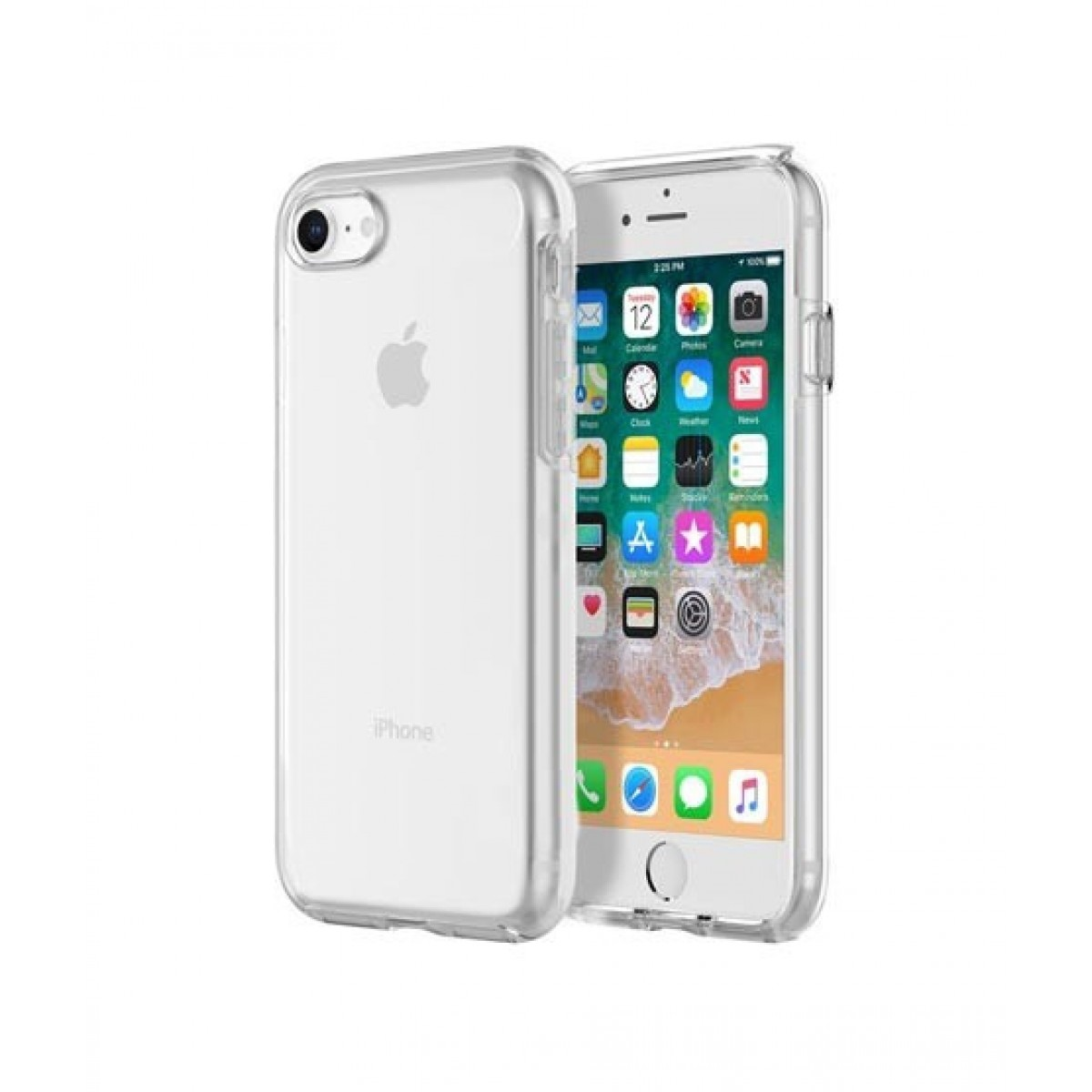 outlet store e655c 53ebe Incipio DualPro Pure Clear Case For iPhone 8