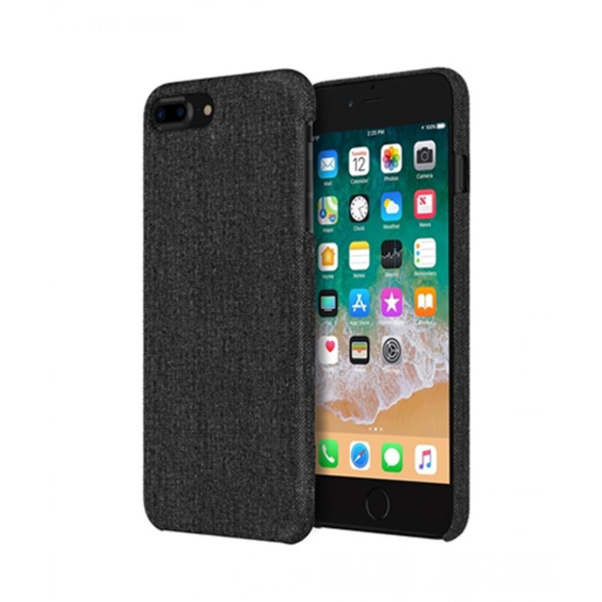 quality design 353cf 4a422 Incipio Esquire Slim Black Fabric Case For iPhone 8 Plus