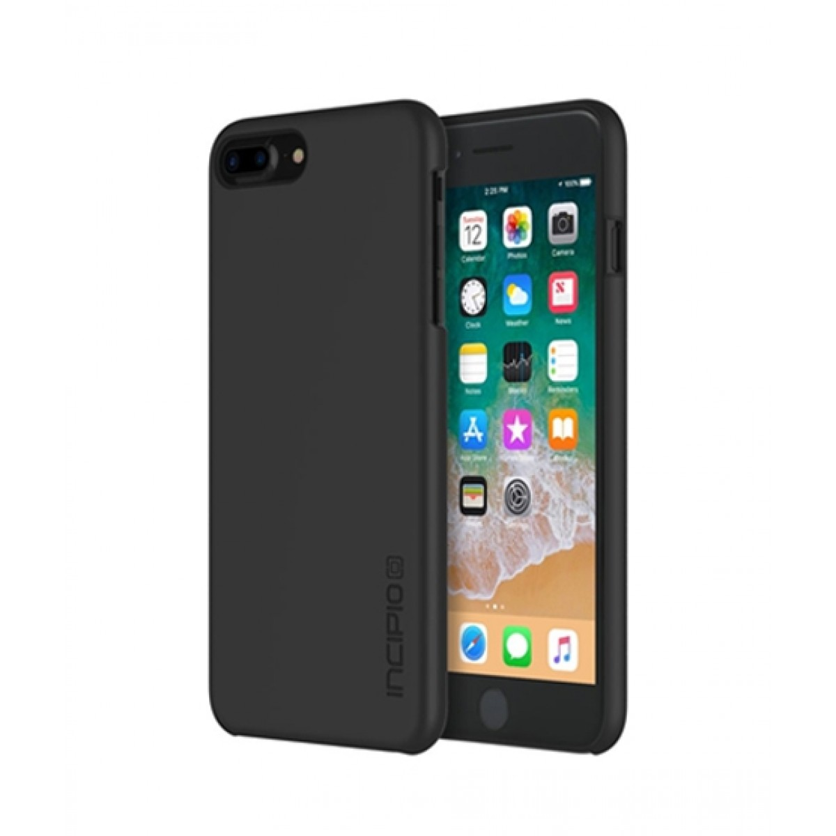 brand new 21eb4 8aa8f Incipio Feather Black Case For iPhone 8 Plus