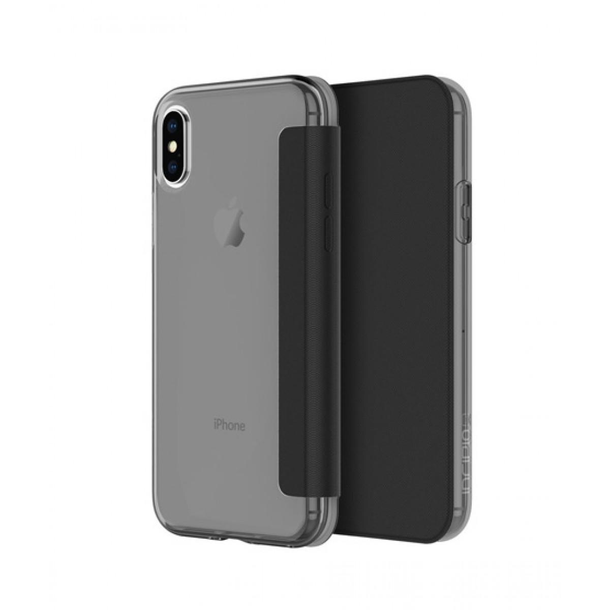 new concept ffc4f 195ba Incipio NGB Folio Smoke/Black Case For iPhone X/XS