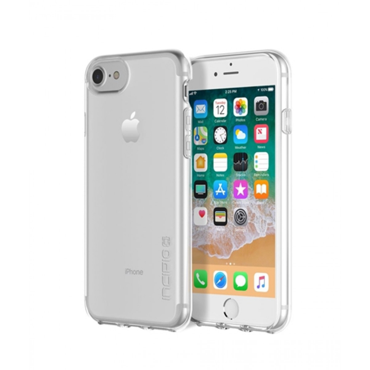 new concept 0b214 4b767 Incipio NGP Pure Slim Polymer Clear Case For iPhone 8