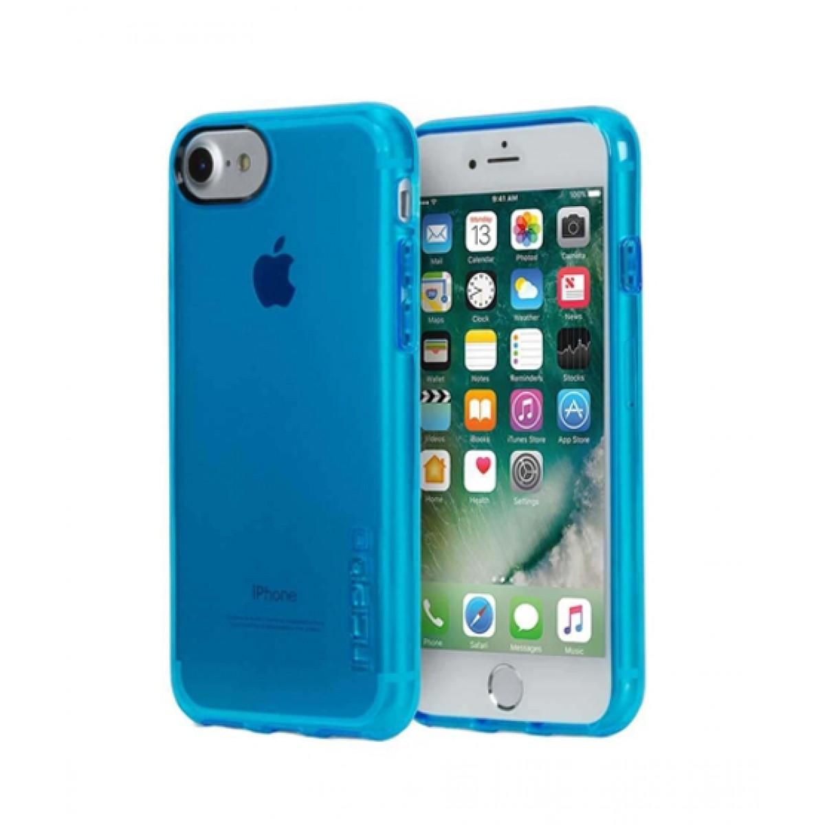 purchase cheap e570c 8e727 Incipio NGP Pure Slim Polymer Cyan Case For iPhone 8