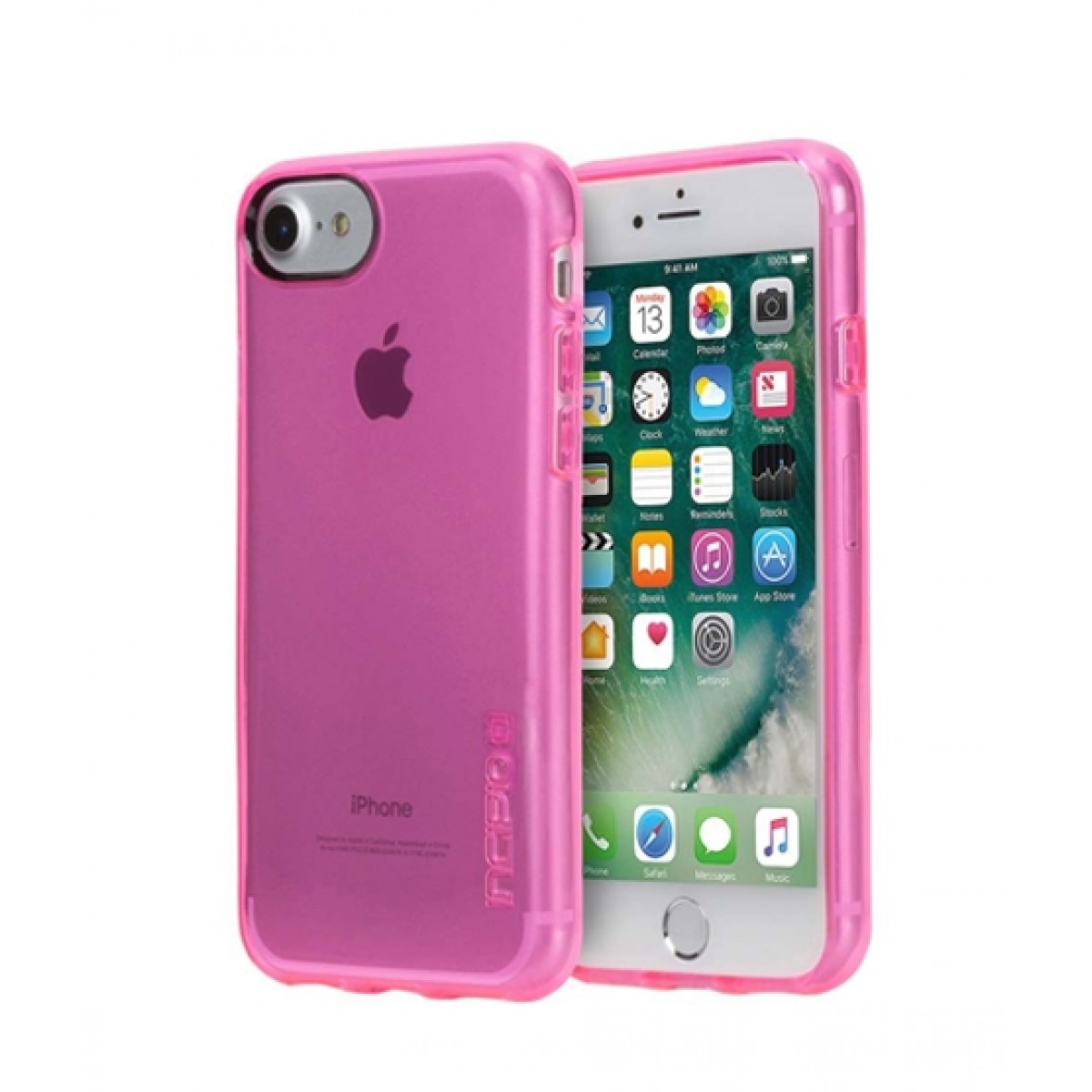 competitive price 75caa 521c0 Incipio NGP Pure Slim Polymer Hot Pink Case For iPhone 8