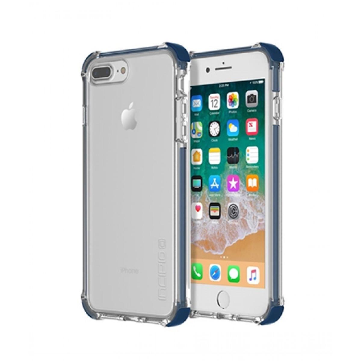 official photos 71713 1fe88 Incipio Reprieve Sport Blue/Clear Case For iPhone 8 Plus